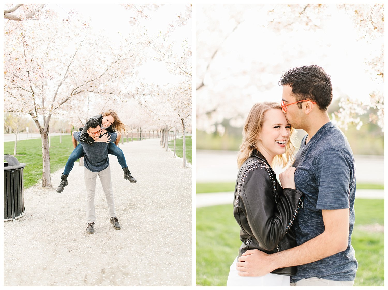 Spring Blossoms Engagement Session 5