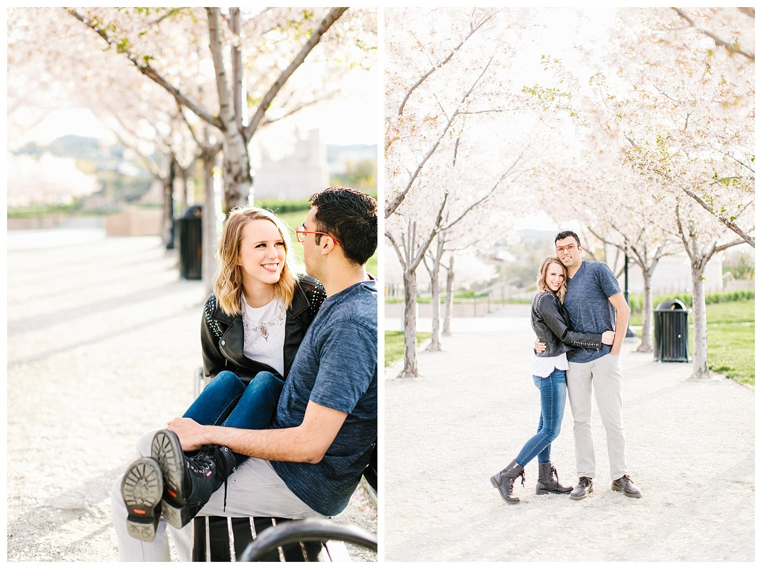 Spring Blossoms Engagement Session 6