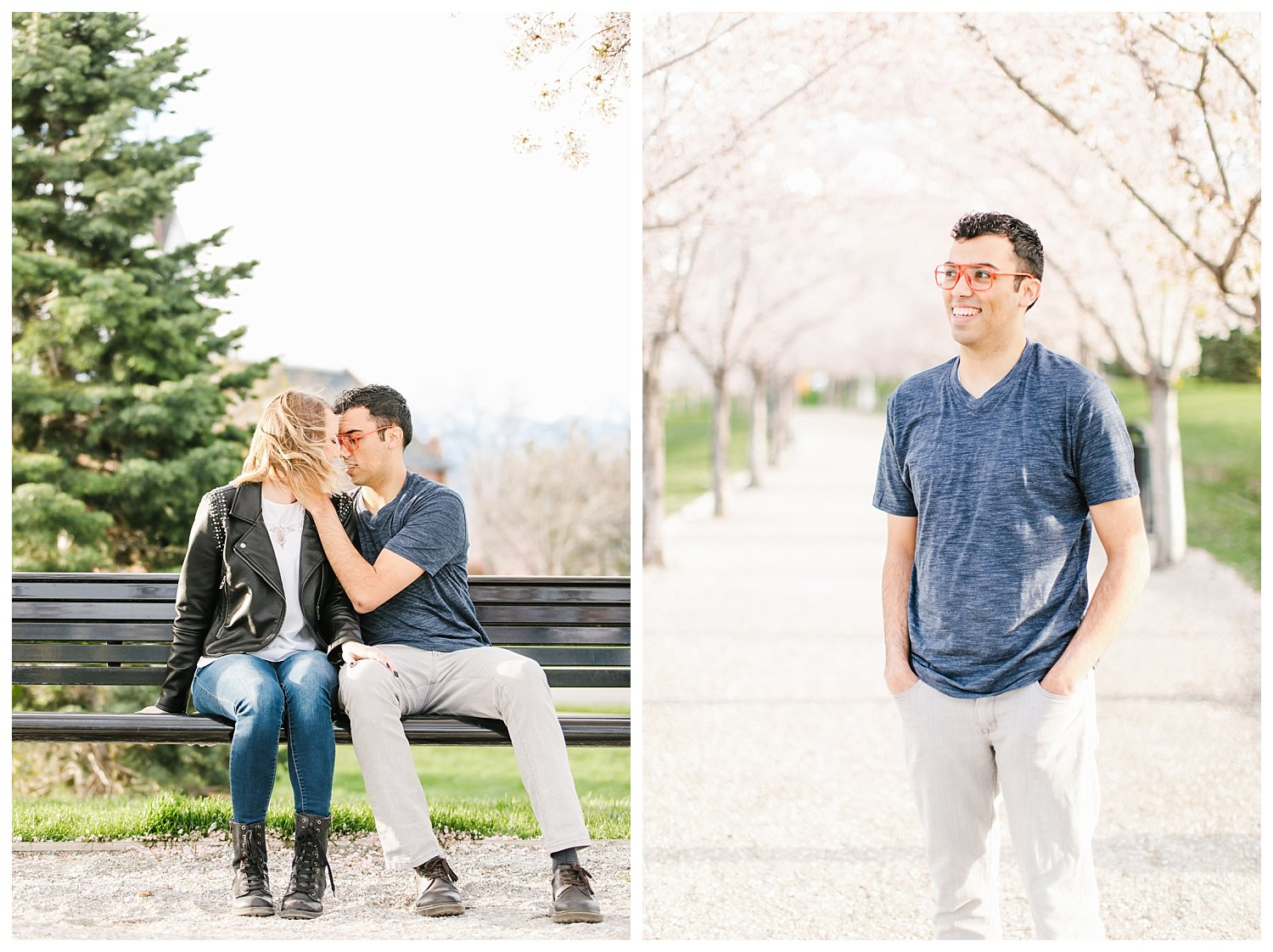 Spring Blossoms Engagement Session 8