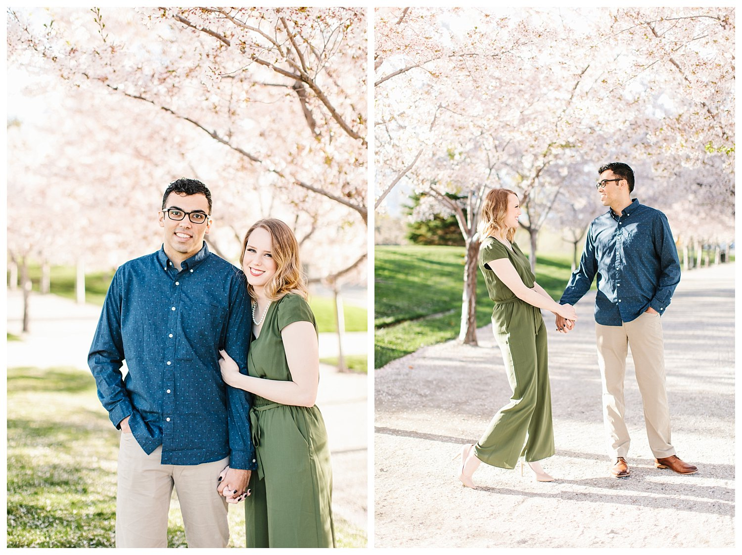 Spring Blossoms Engagement Session 10