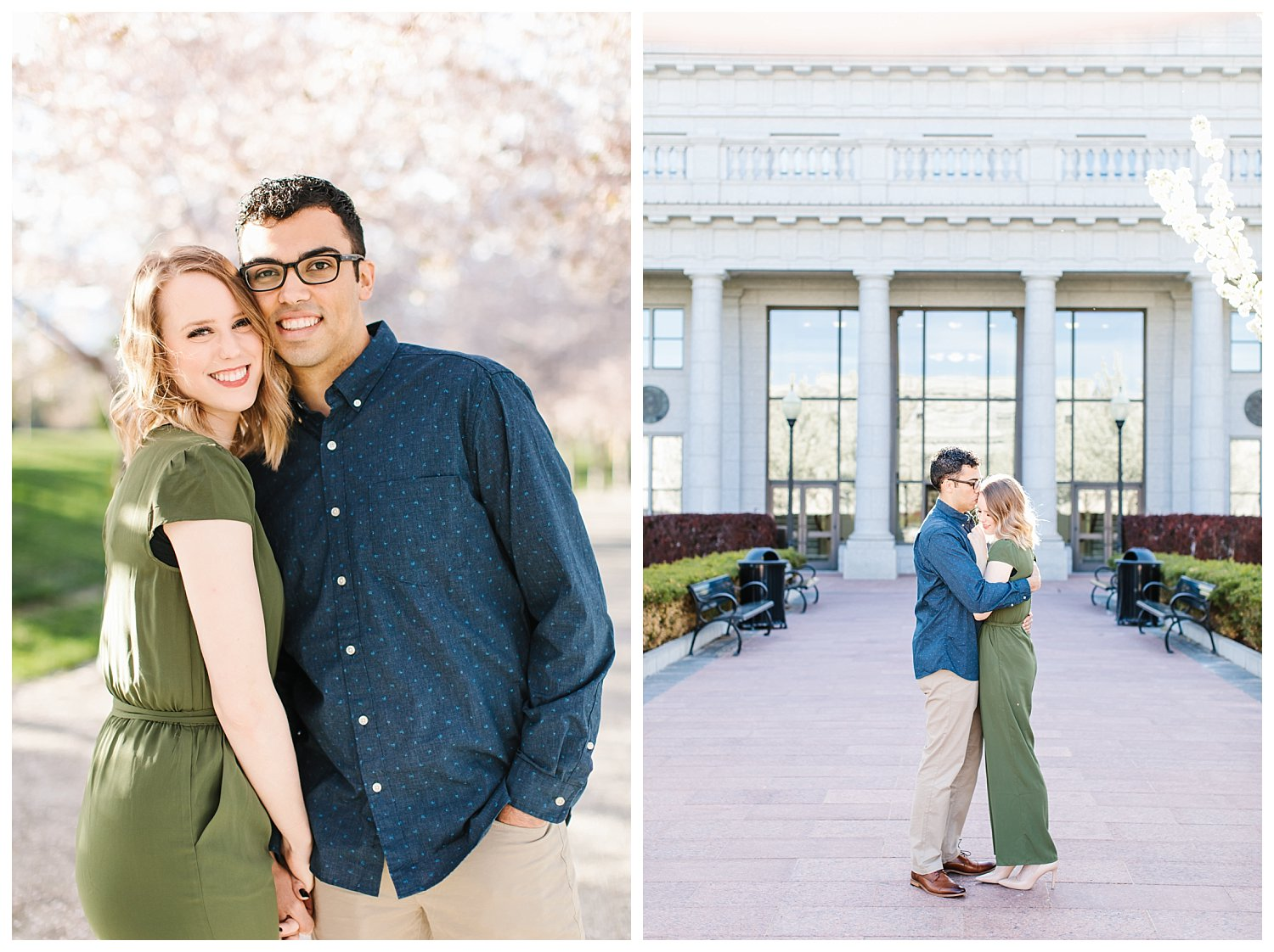 Spring Blossoms Engagement Session 11