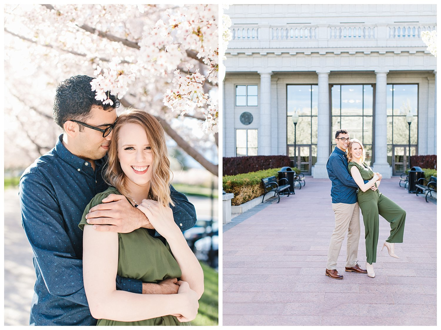Spring Blossoms Engagement Session 12
