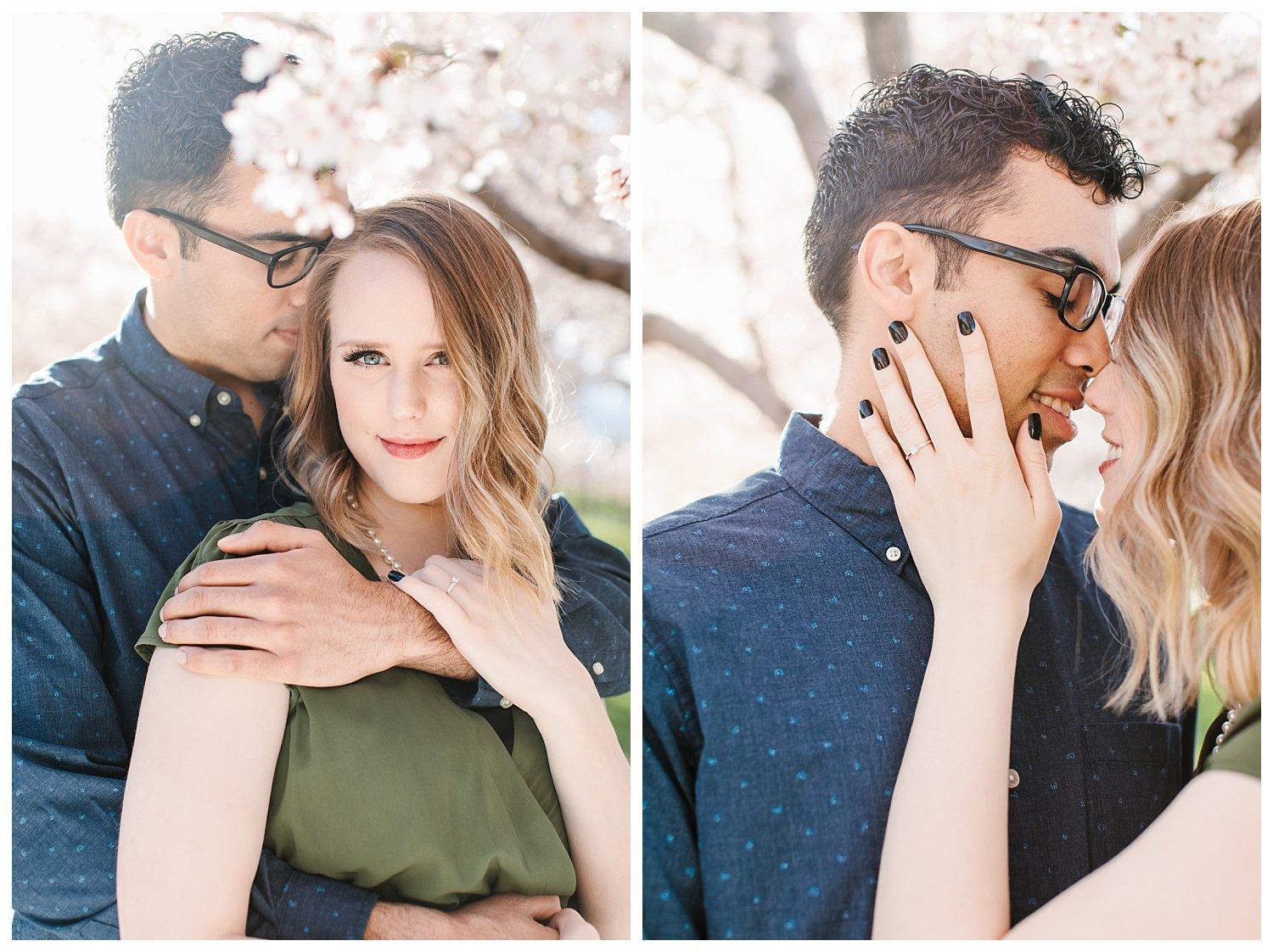 Spring Blossoms Engagement Session 14