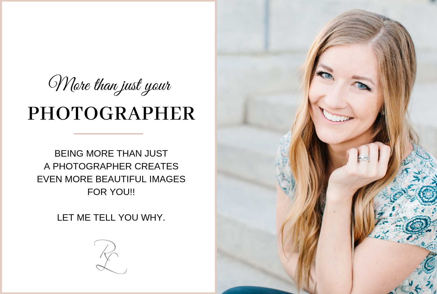 Being more than just a photographer -- being your friend -- creates even more beautiful images! Let me tell you why relationships matter so much!