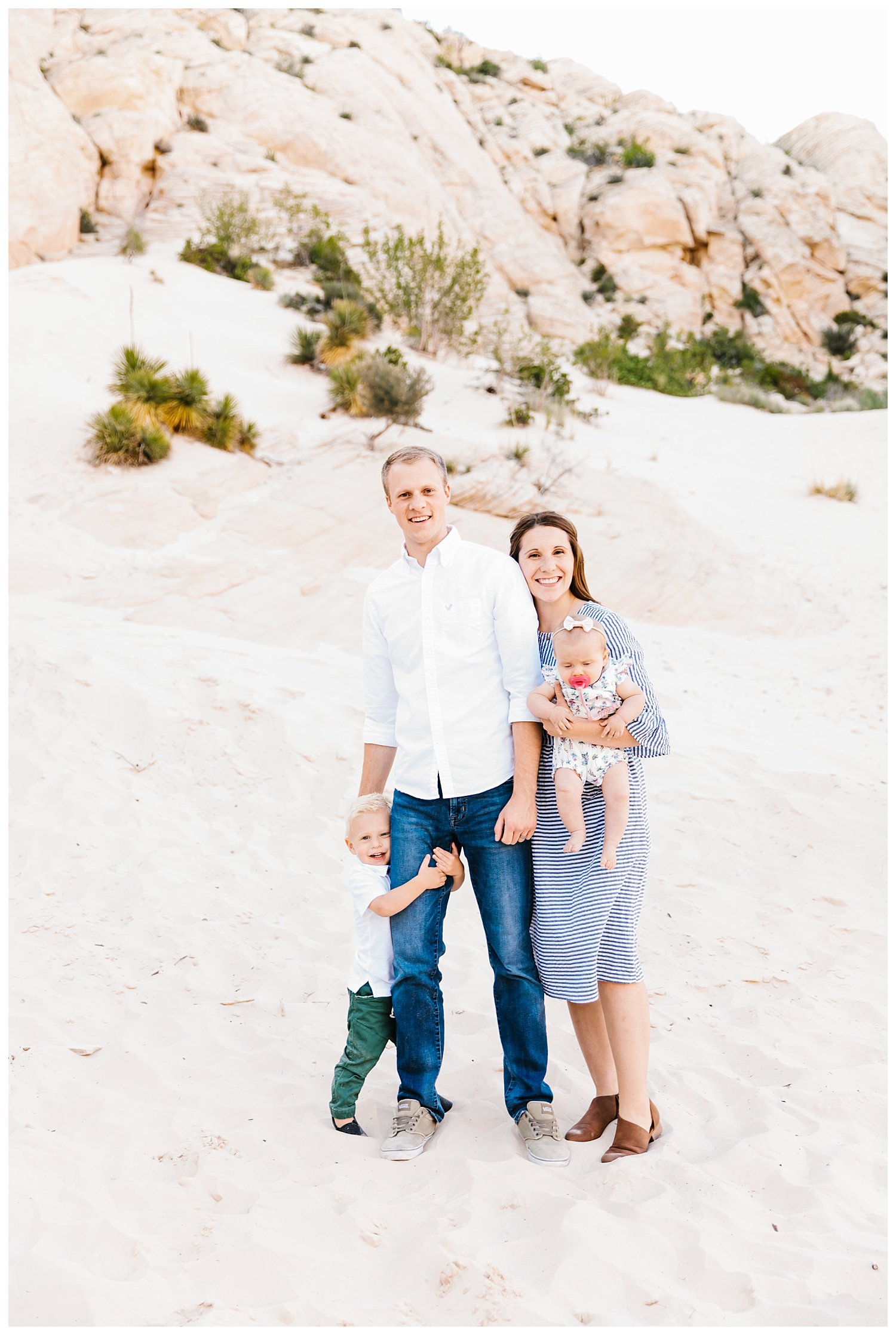 Family Session in Snow Canyon Utah | Rachel Lindsey Photography | Utah Family Photographer 9