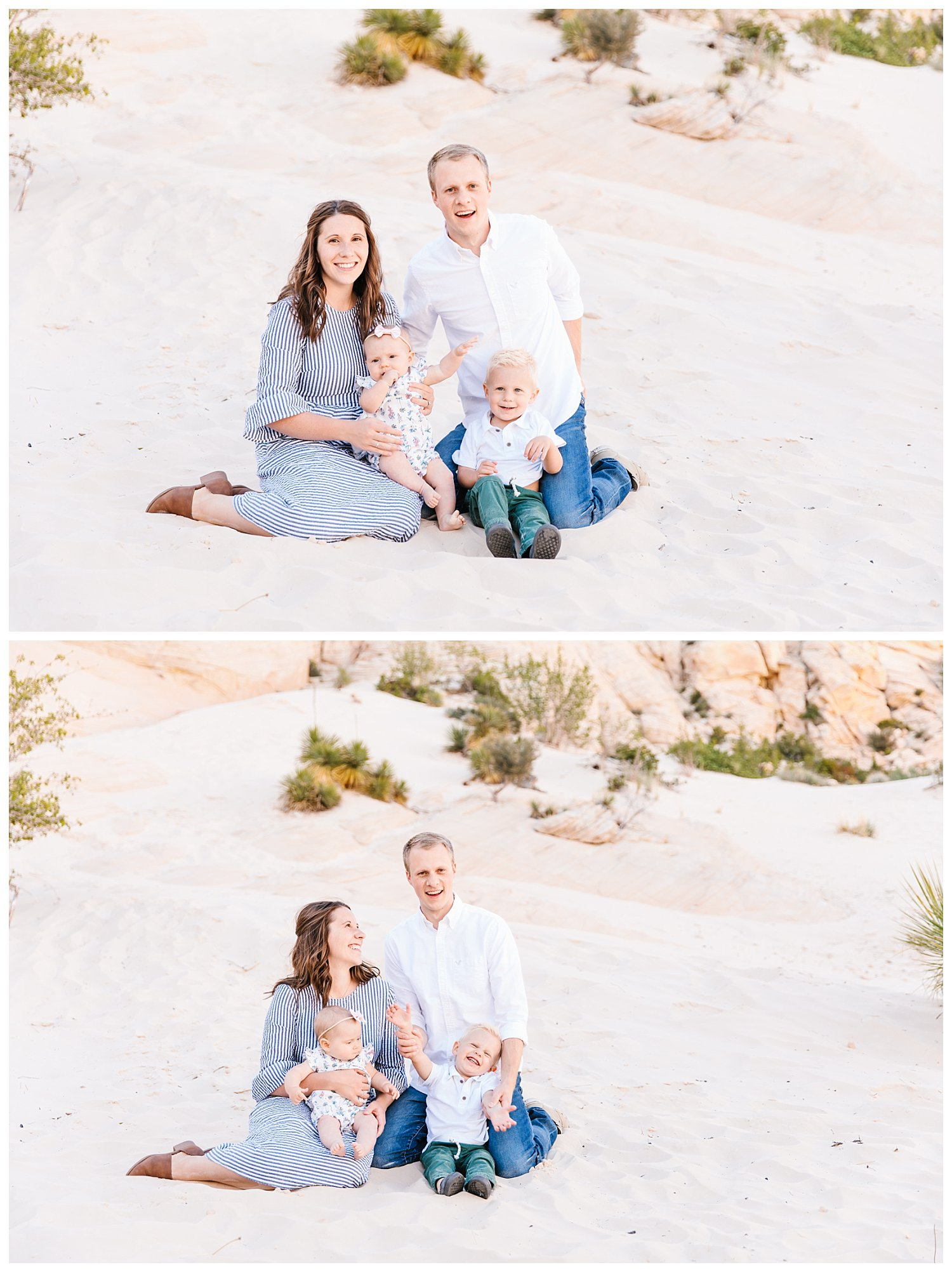 Family Session in Snow Canyon Utah | Rachel Lindsey Photography | Utah Family Photographer 1
