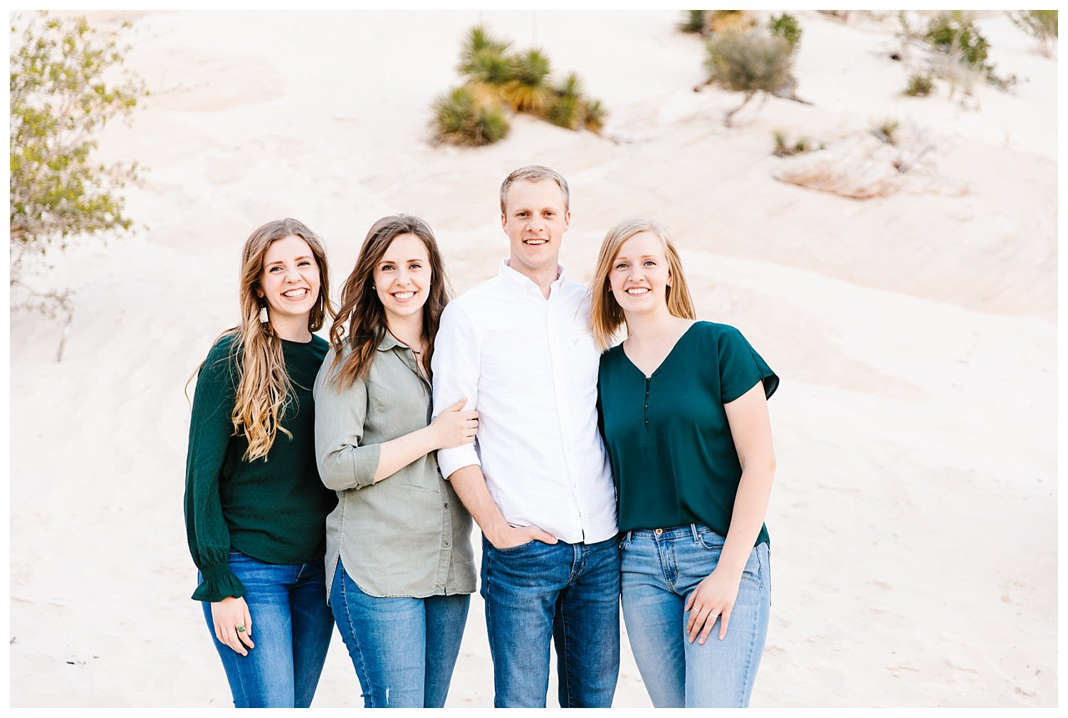 Family Session in Snow Canyon Utah | Rachel Lindsey Photography | Utah Family Photographer 5