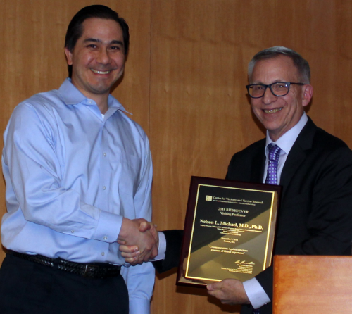 2018 Visiting Professor - We were honored to have COL. Nelson Michael join us this year as our 2018 visiting professor.