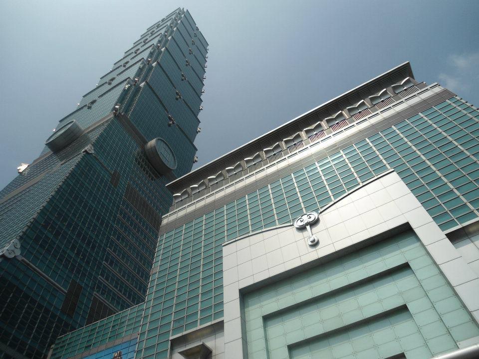 Taipei 101, summer 2012