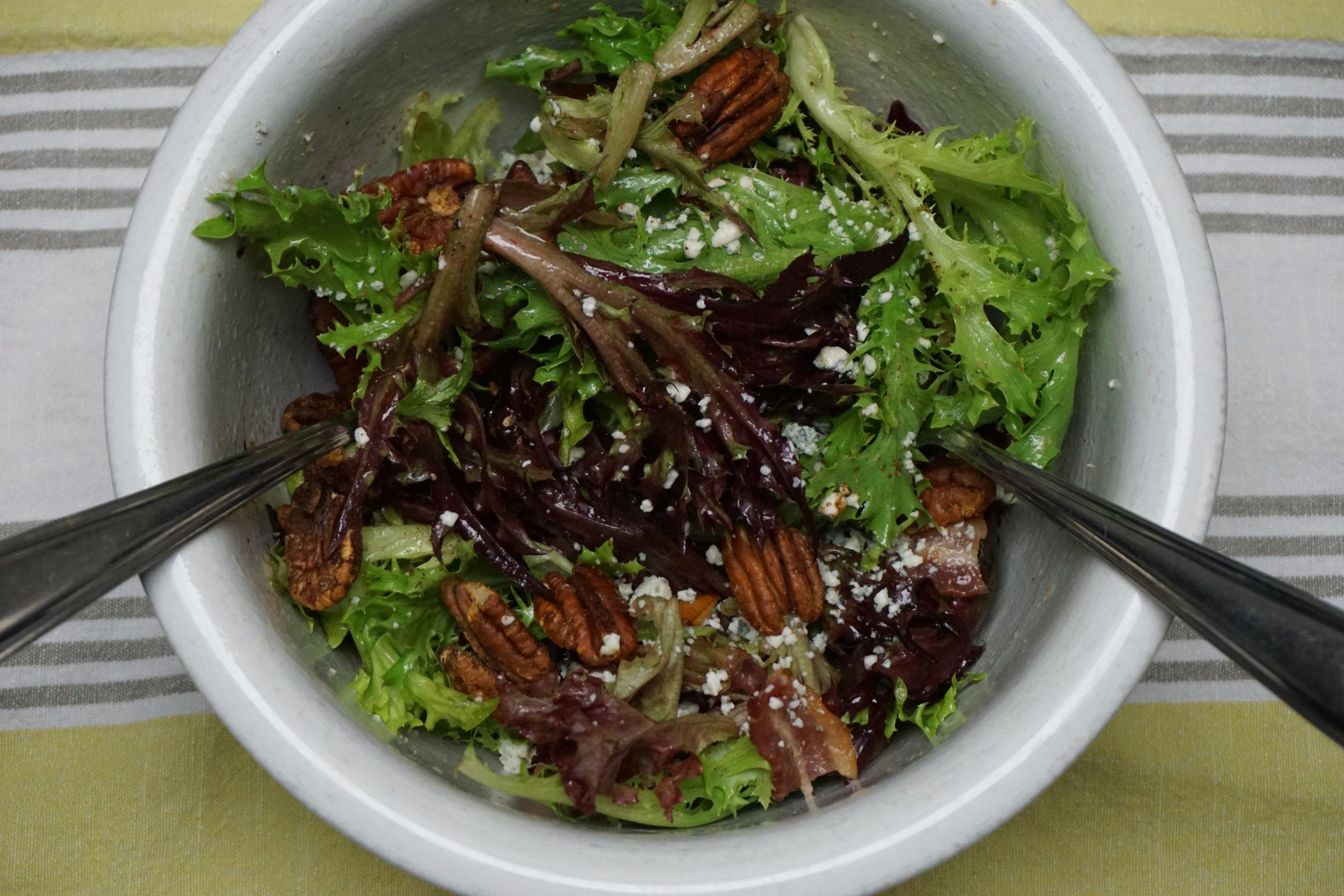 Spiced Pecan Salad