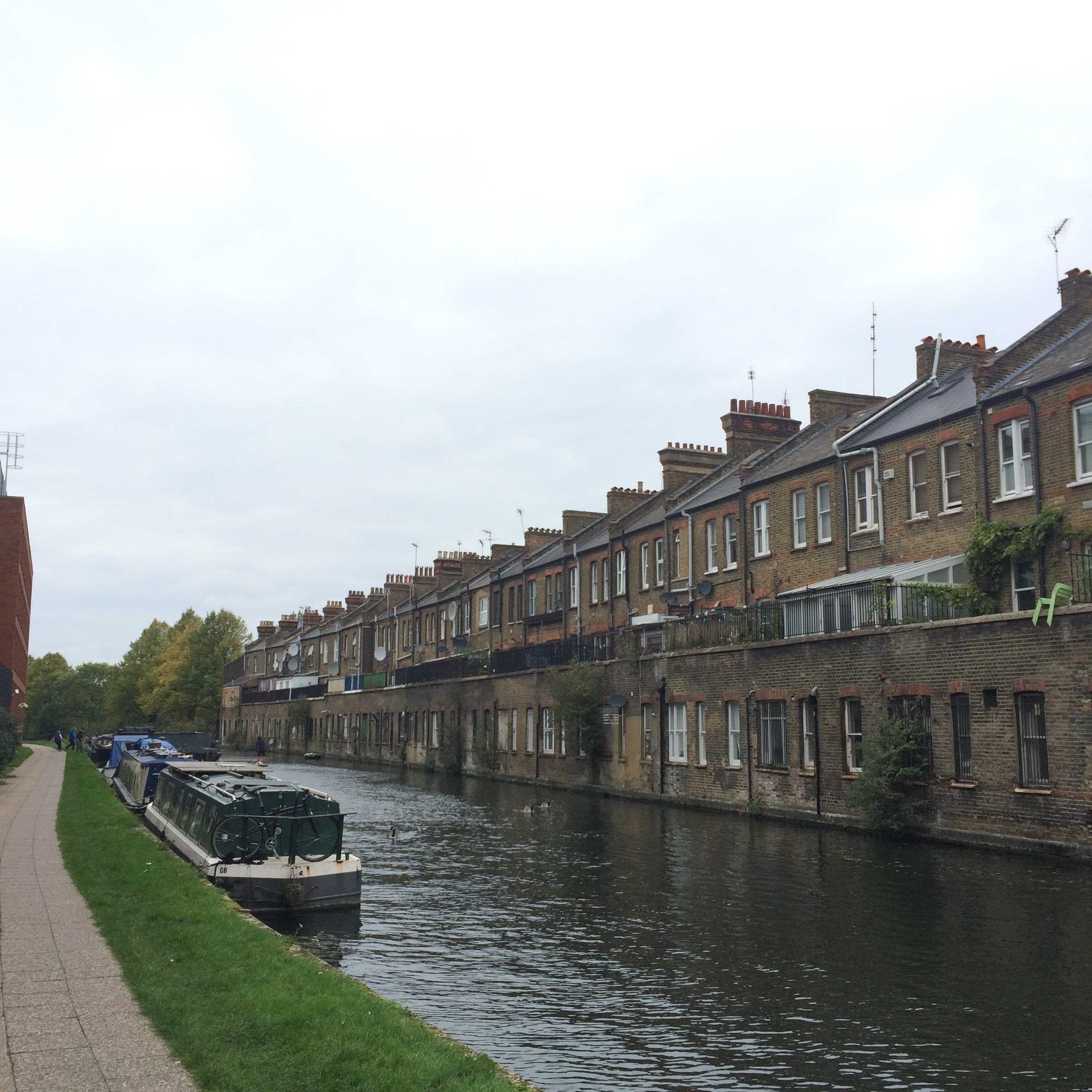 A run along the canal