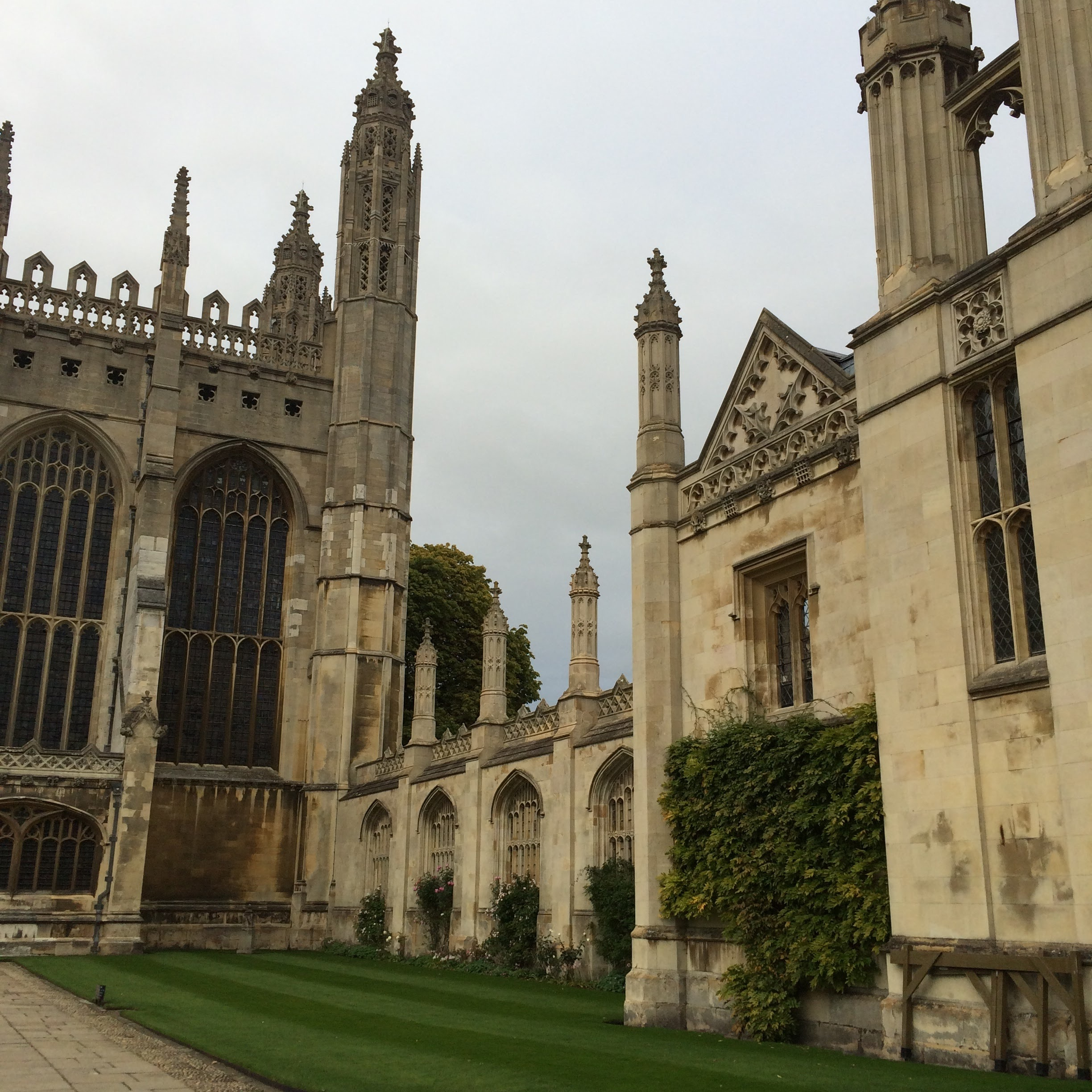 We spent a day in Cambridge, visiting Shermaine