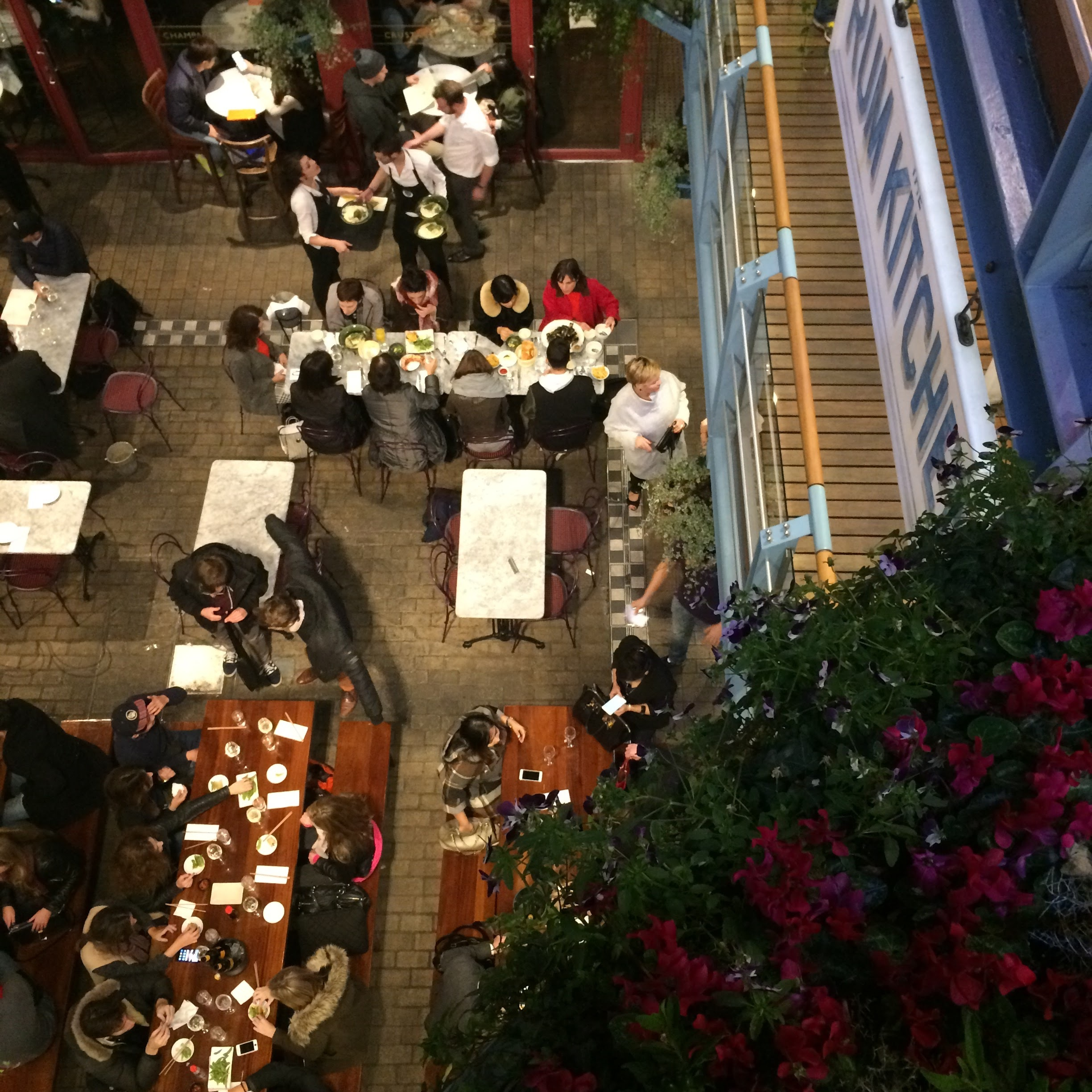 A busy friday night in Kingly court