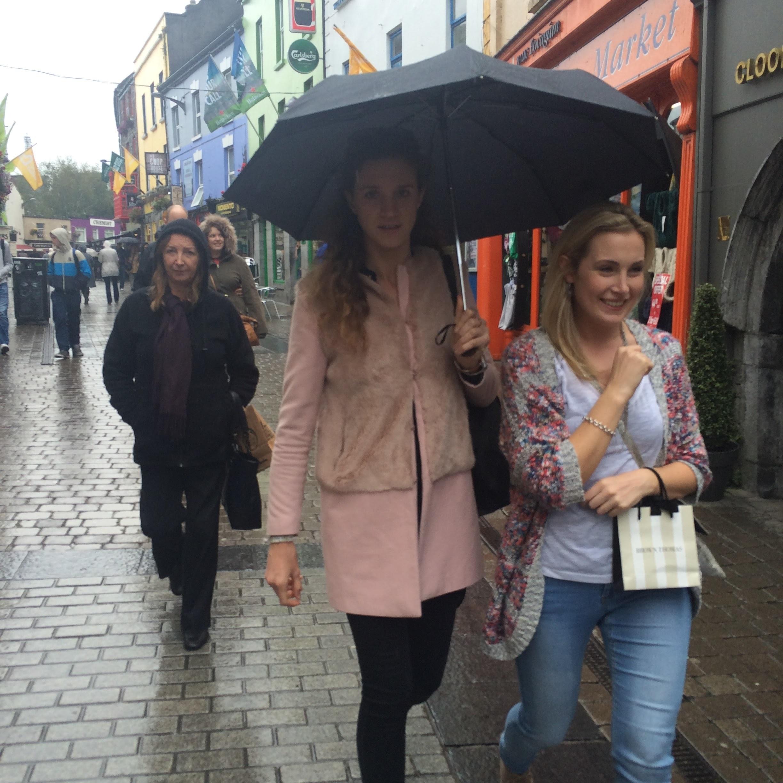 It's always raining in Galway