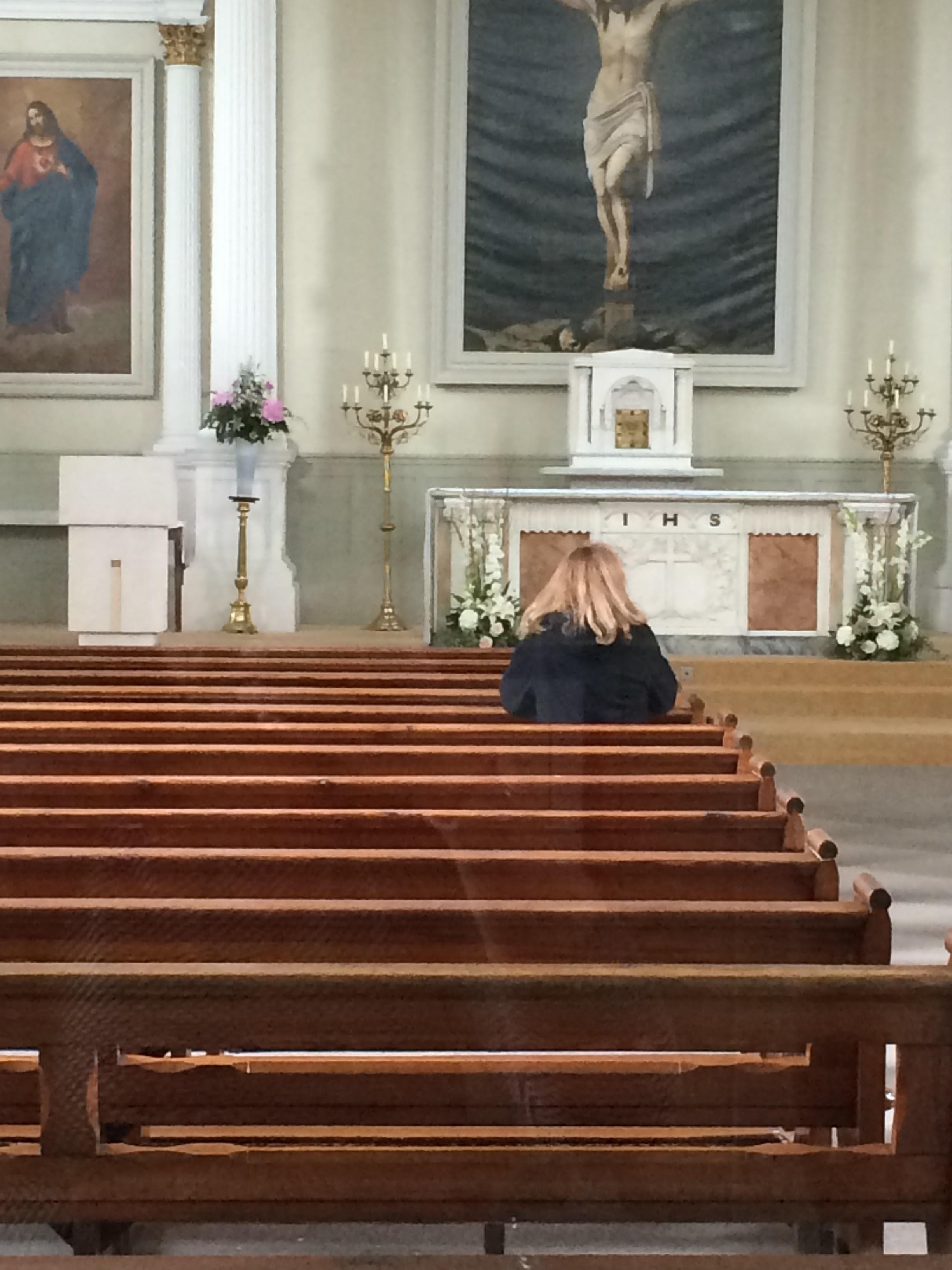 Mammy in the church