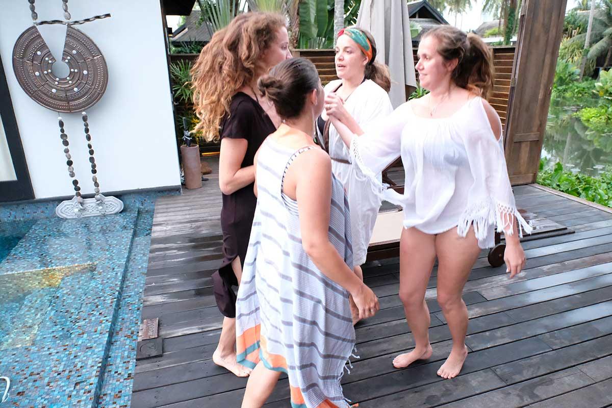 Irish dancing in Phuket Anantara