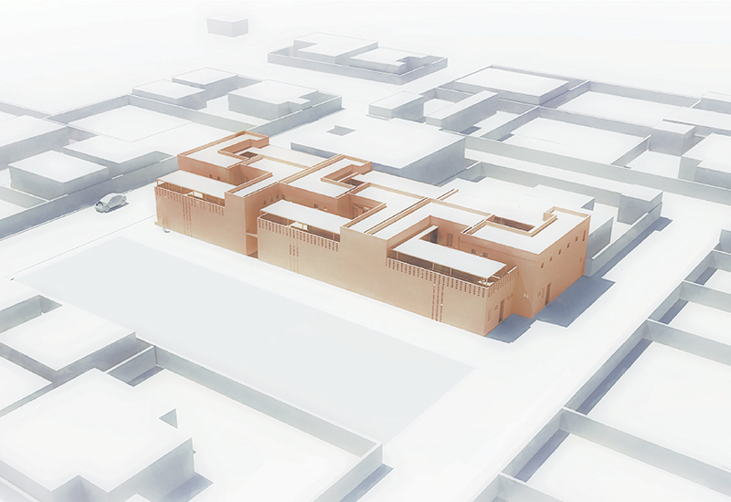 [Areal View of Housing Project_image by united ➃ design]