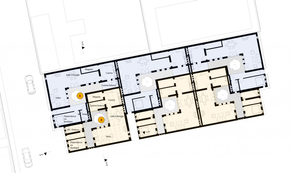[Ground Floor Plans_image by united ➃ design]