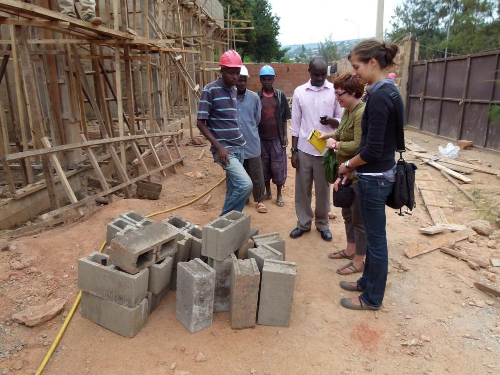 [EWB-CU Rwanda team members sourcing materials. Image by EWB-CU Rwanda]