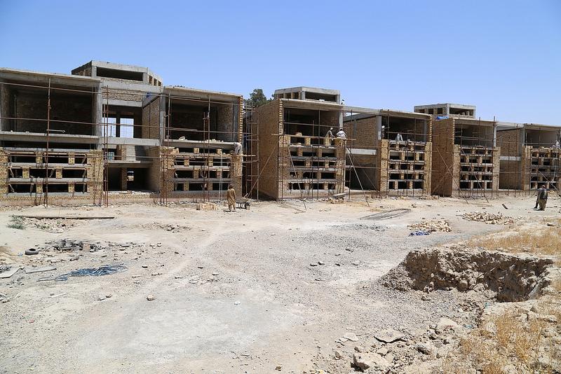 [school construction site_image courtesy of Ayni Education International]