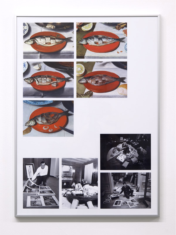 """Untitled (Fish and Hef), 2016, Archival inkjet prints, paper, 16 ¼"""" x 12 ¼"""""""