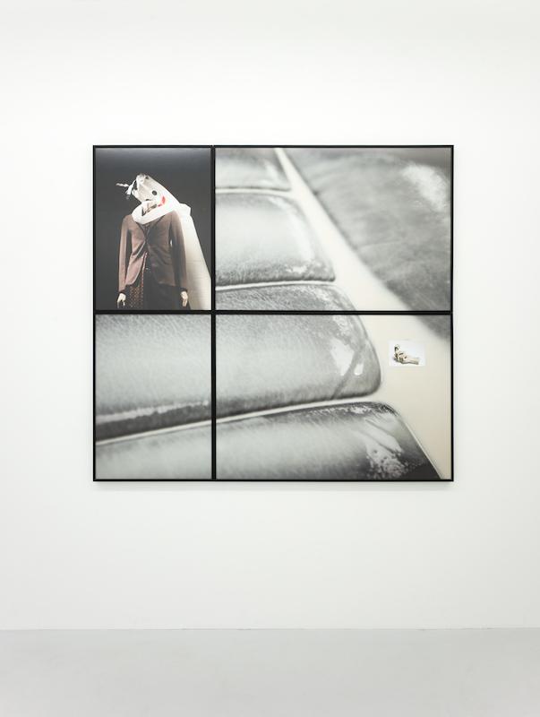 Ornamentation,2016,Archival inkjet prints, postcard,153 x 143 cm