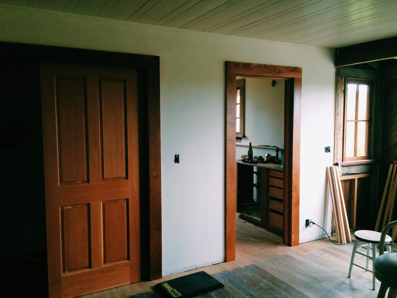 Fir Trim & Flooring Installation
