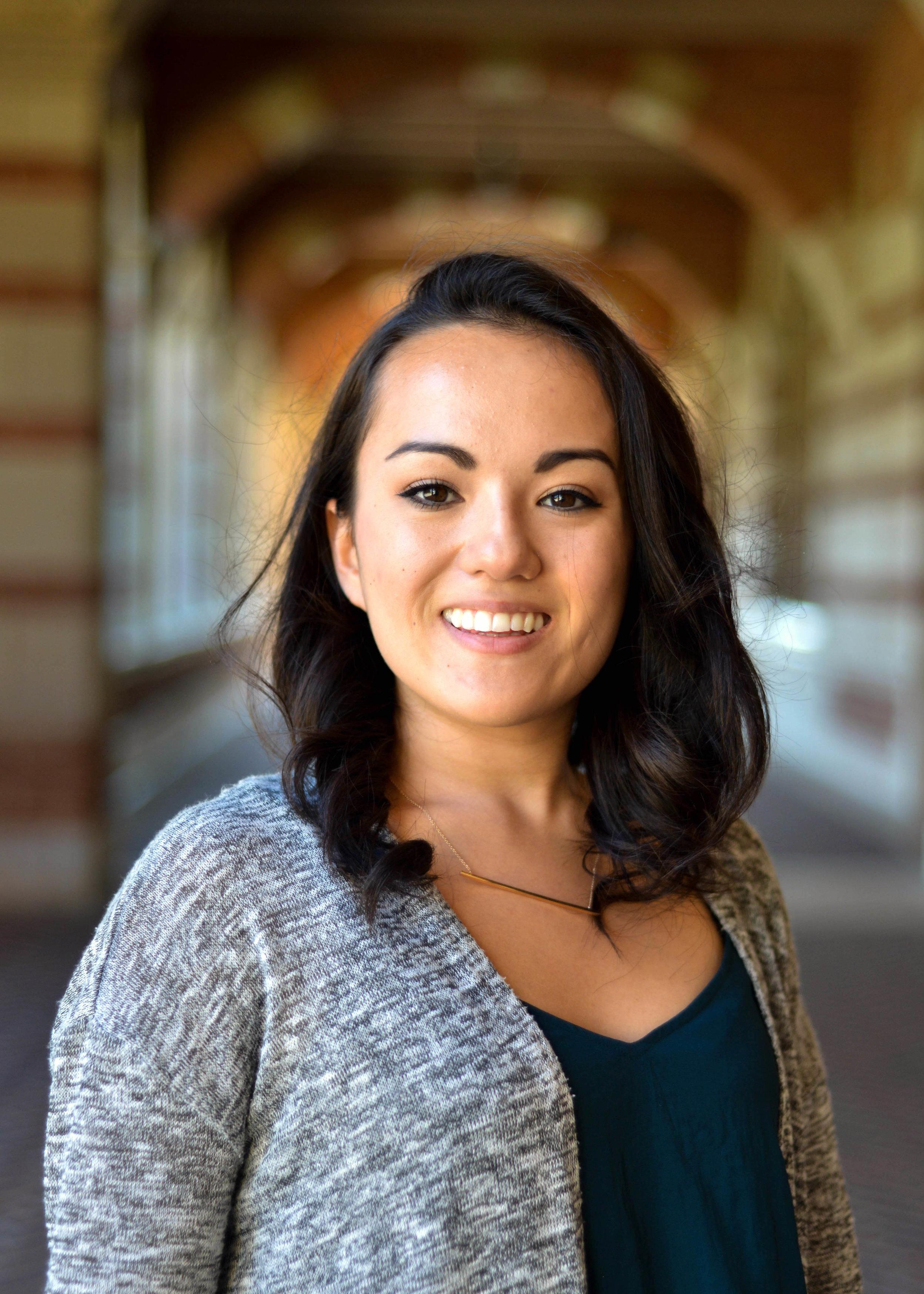Class: Alpha Theta  Grad Year: 2018  Interests: Cooking, baking, movies  Big: Deanna Pe  Little: Hutchison Chin   LinkedIn