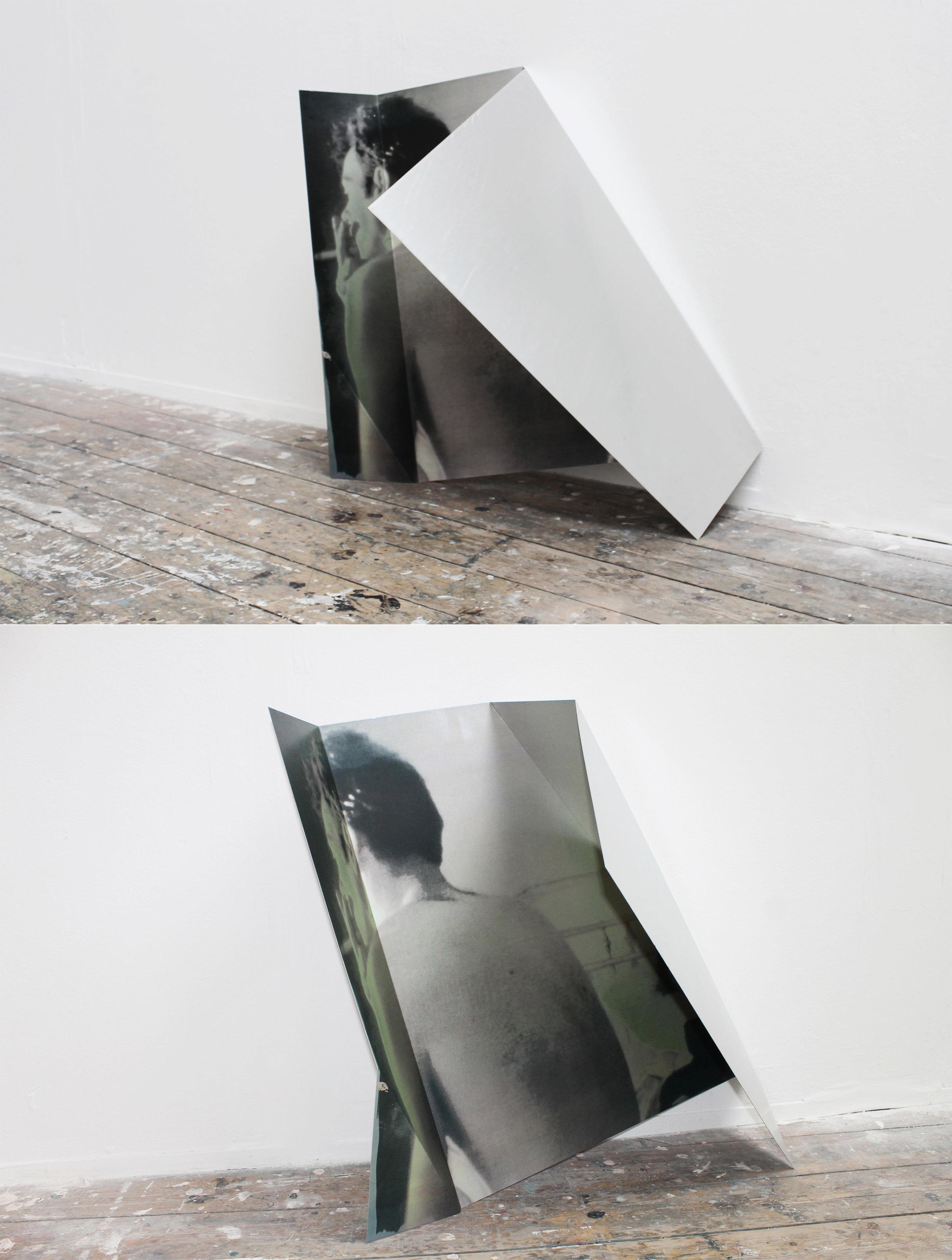 For the love of Nan Goldin  | 2015 | CMYK screen print on aluminium