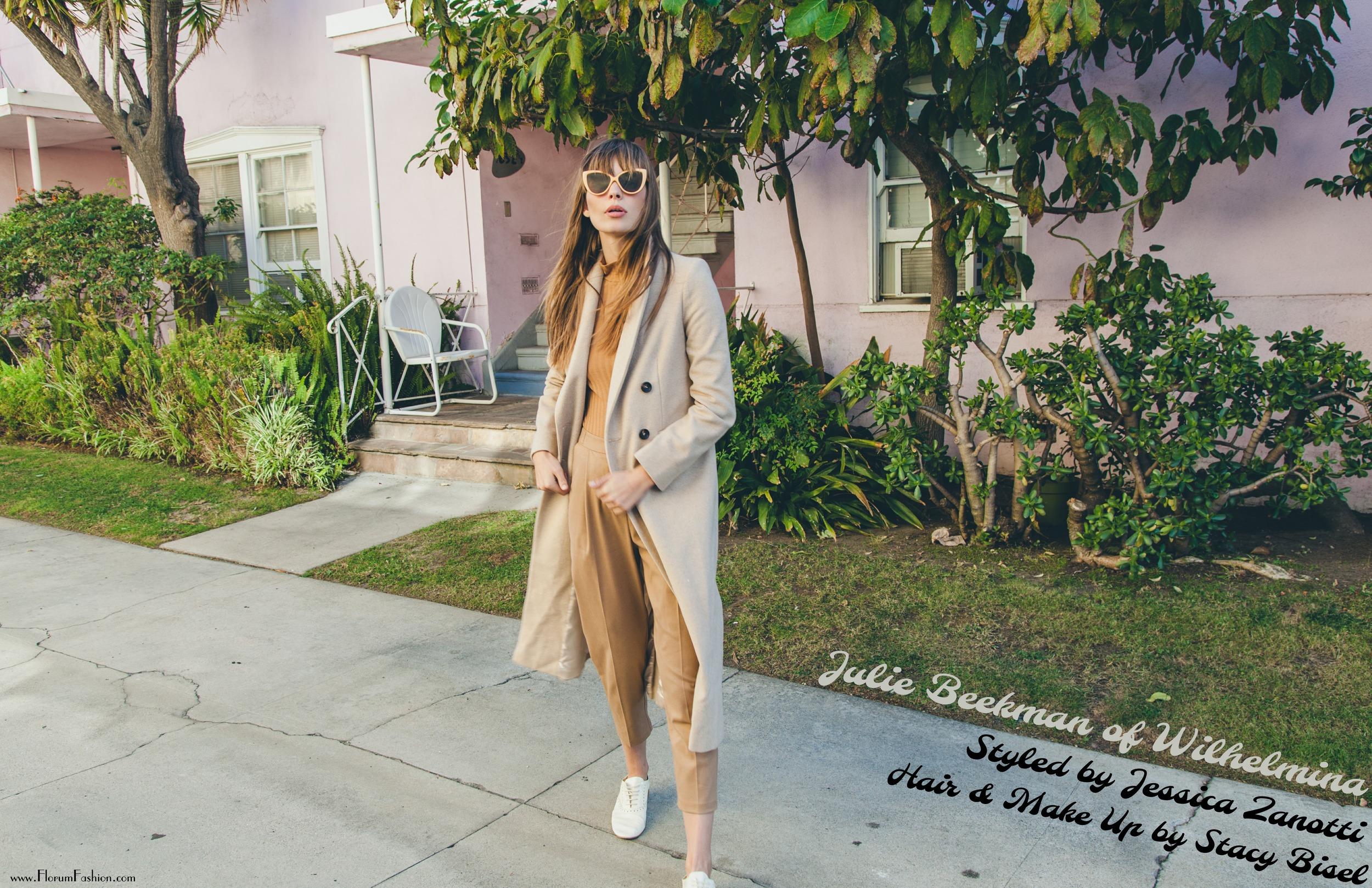 Une Jolie Femme by Liza Boone for Florum Fashion Magazine