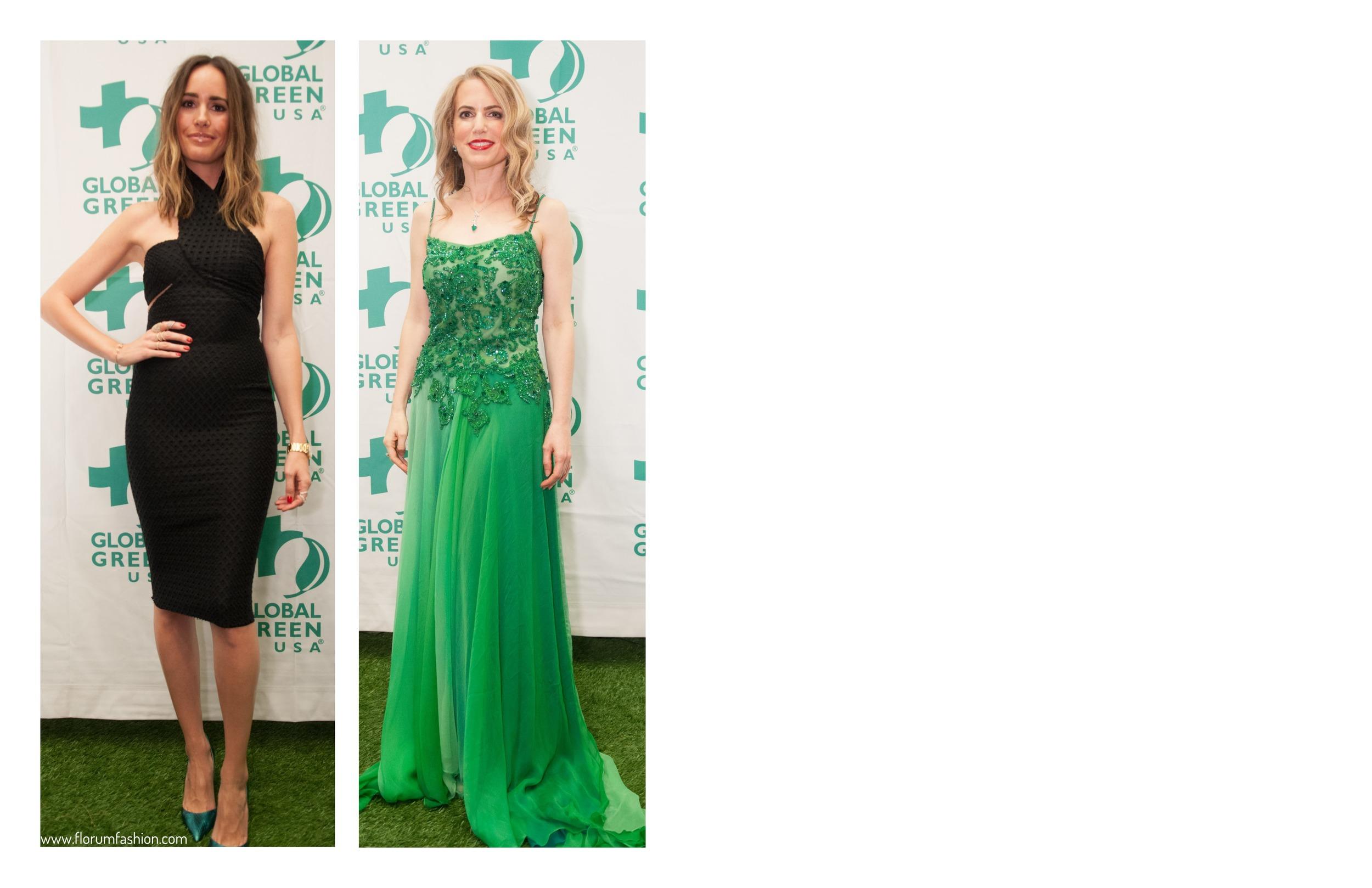 SF Socialite Emerald City Gorgeours and Green Gala Florum Fashion Magazine