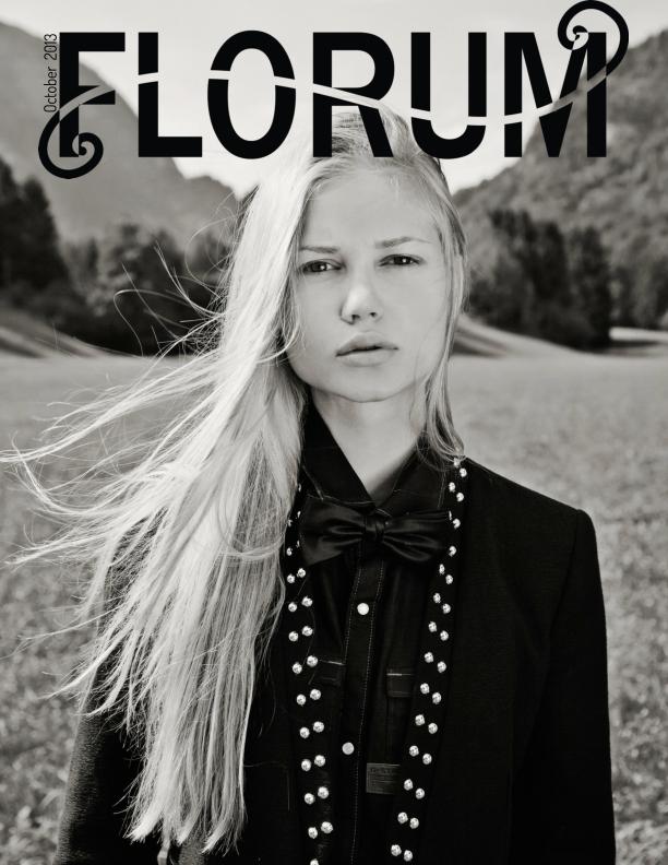 Florum Fashion Magazine November 2013 Cover