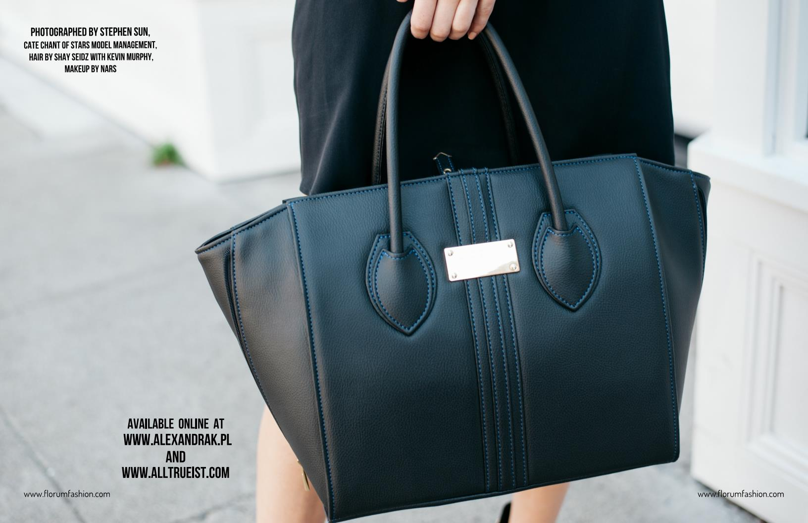 Bag of the month Alexandra K Vegan Purse feat Cate Chant of Stars Model Management