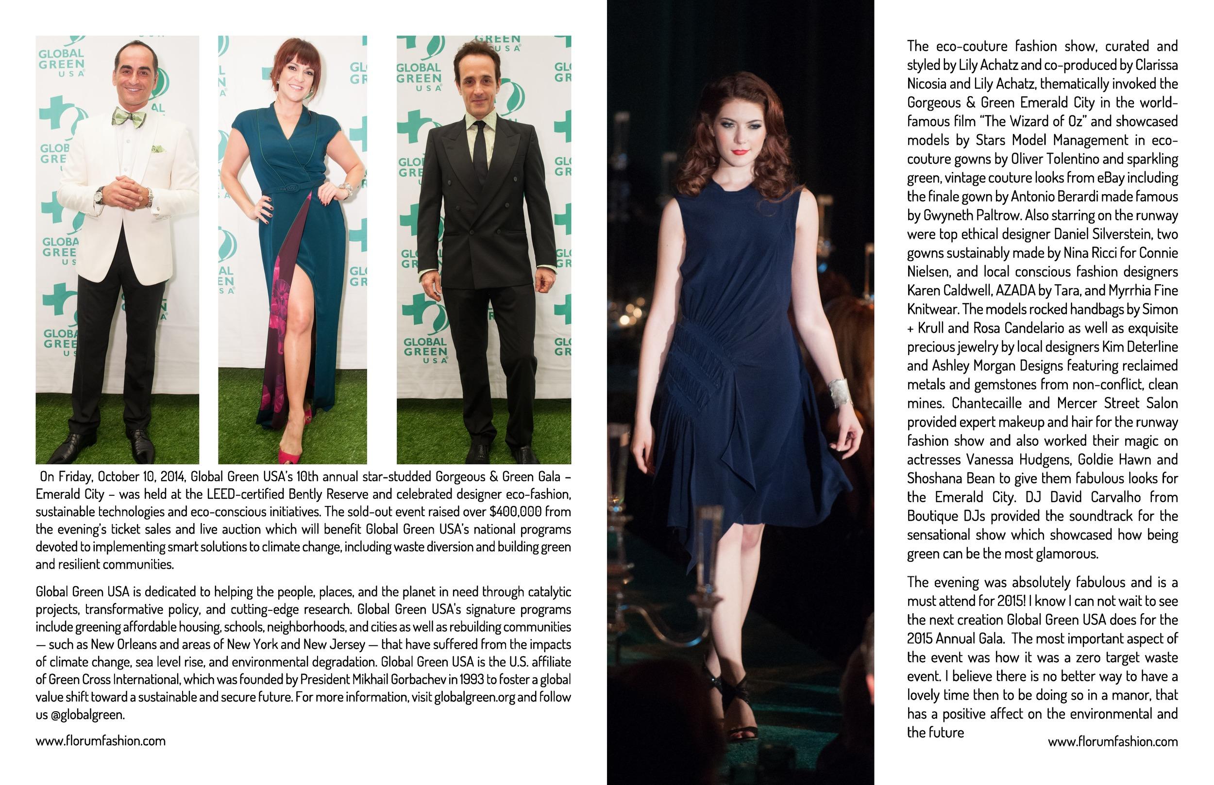 Florum Fashion magazine SF Socialite Emily matheny Stars Model management
