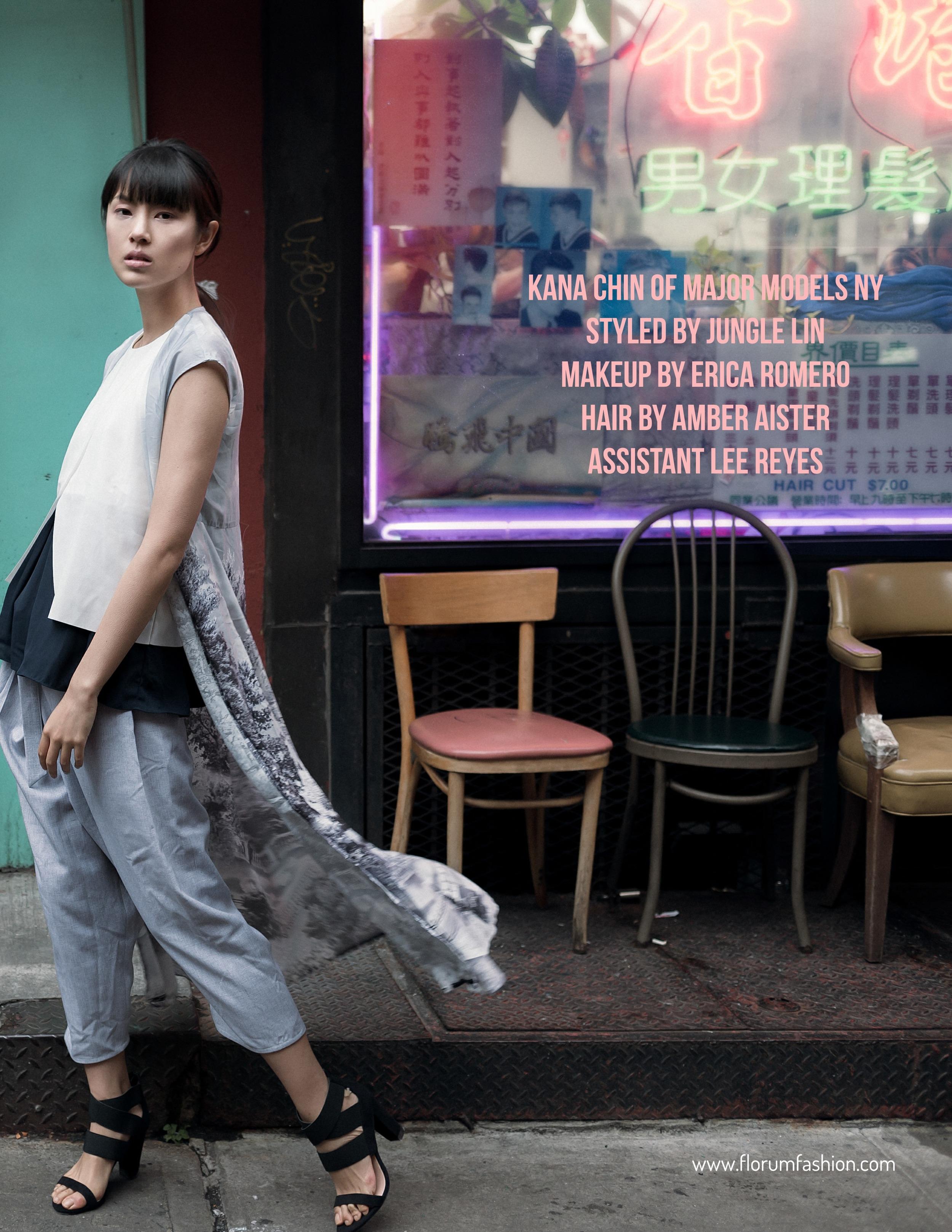 Florum Fashion Magazine Pauly Pholwises Kana Chin Major Models Ethical Fashion