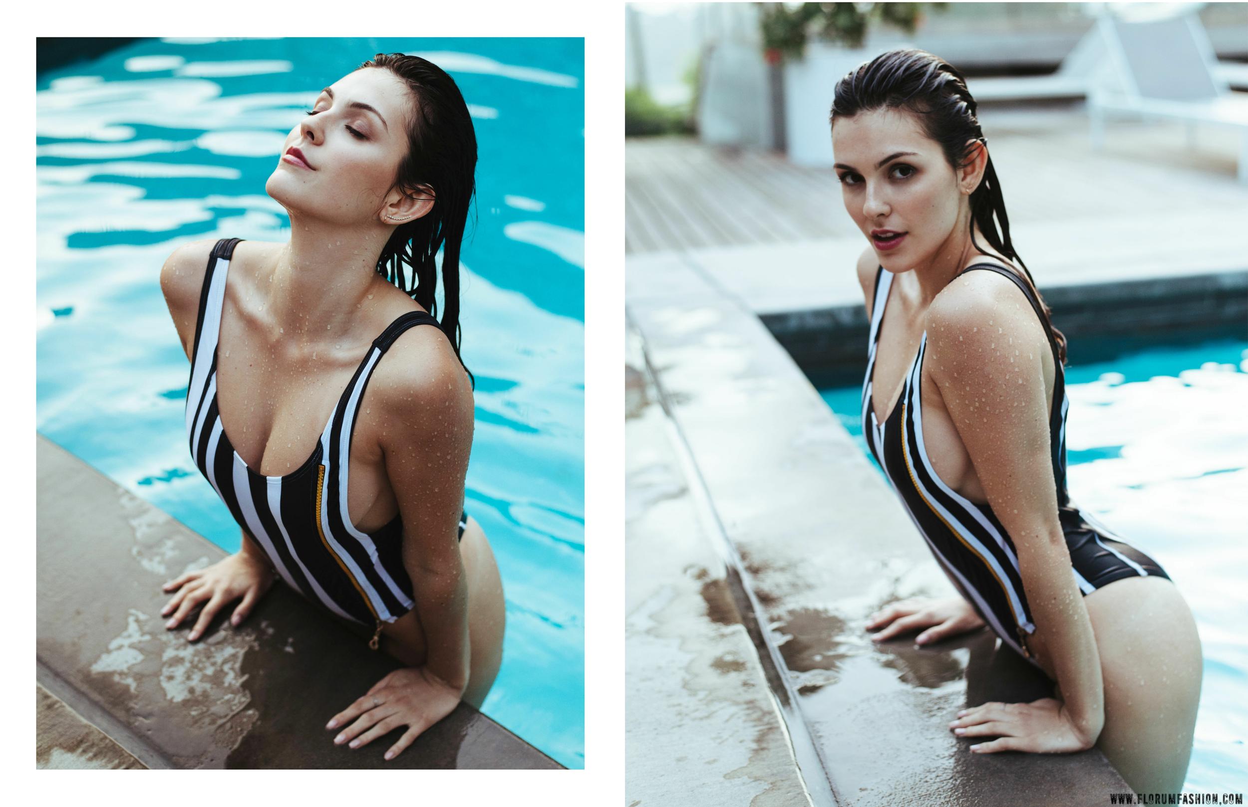 Charlotte Elizabeth Clough Luxury Swimwear - Florum Fashion Magazine - Stephen Sun - Julia Friedman - Photogenics LA - Slow Fashion - Ethical Fashion - Green Bikini