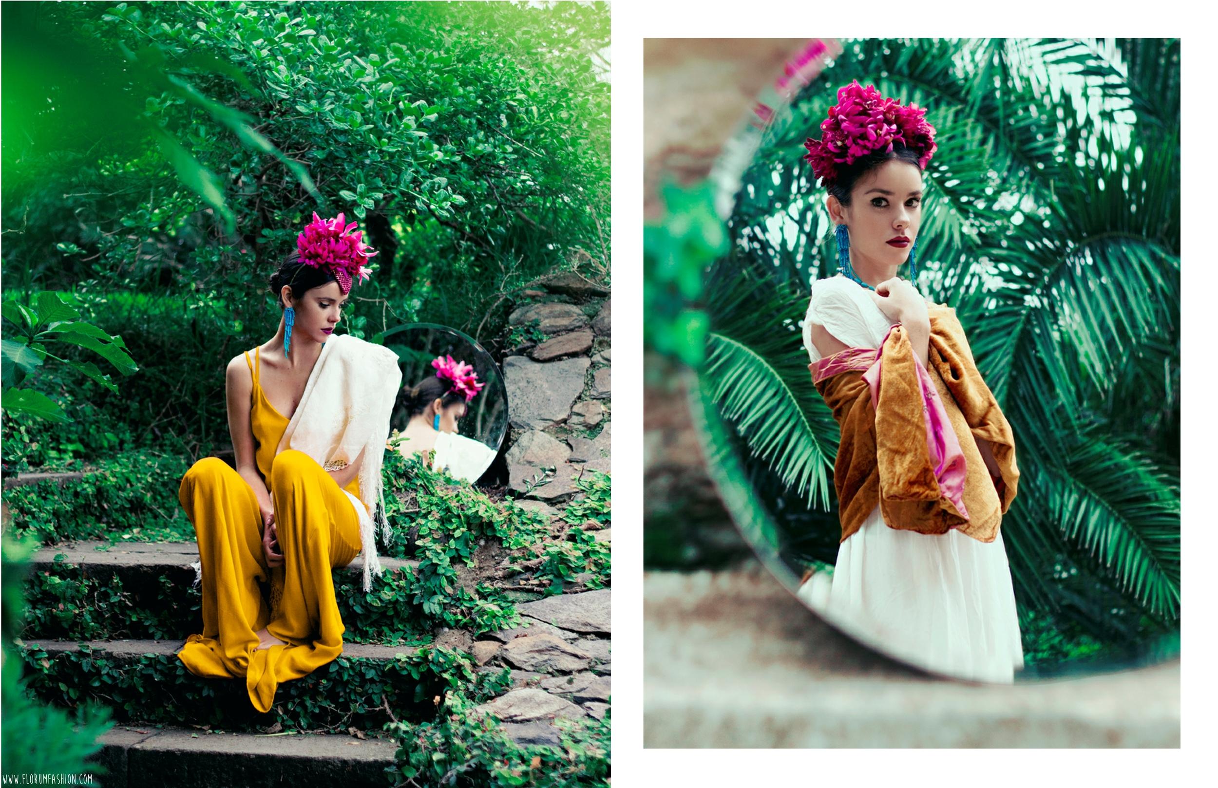 Topeka Headwear - Joaquin Burgueño - Ballerina Sofia Rubio Robles - Carlota Cabrera Ballesteros - Florum Magazine - Fashion Revolution - Slow Movement - Ethical -Sustainable - Canary Islands Spain