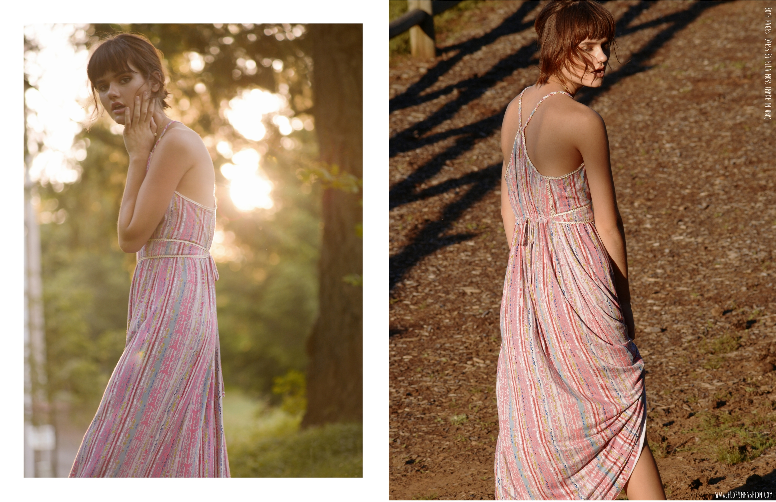 Both Pages:  Dress by Ella Moss (Made in USA)