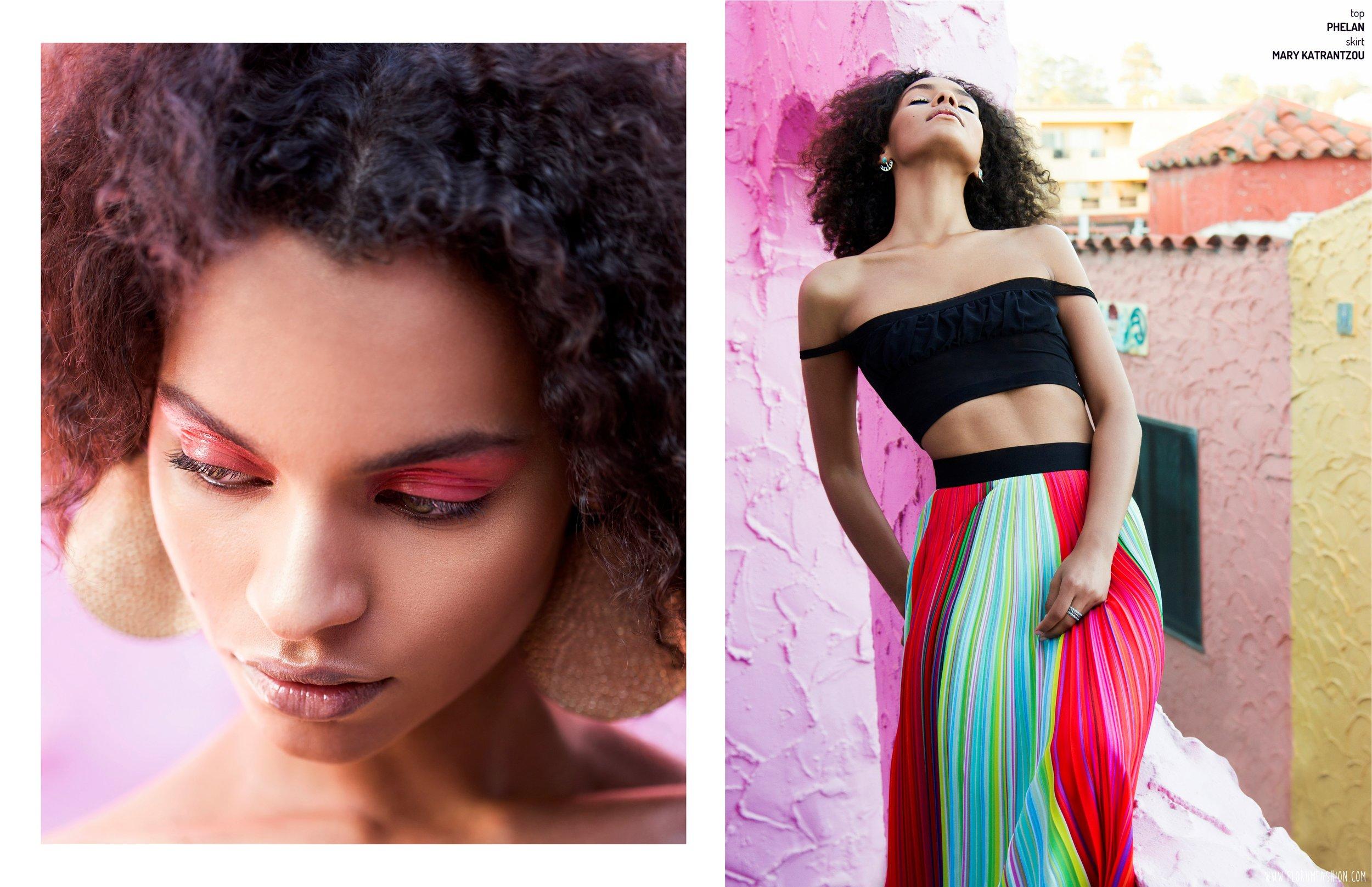 Once Upon A Decade - Havana Cuba Fashion - Bailey Harada Stone - Florum Magazine - Star Burleigh - Sophia Jackson Scout Model Agency - Jill Marie Makeup - San Francisco