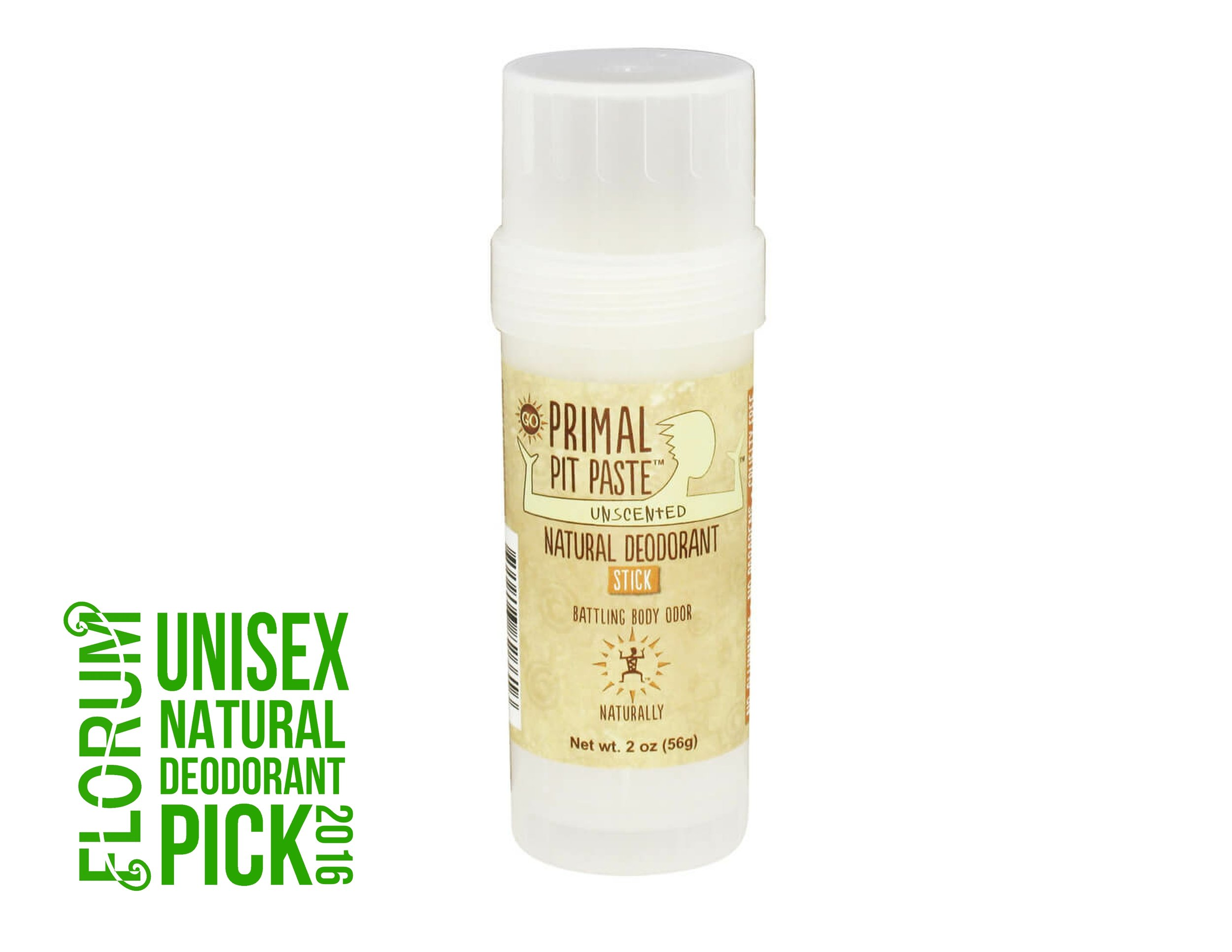 Primal Pit Paste Unscented Organic Natural Deodorant - Florum Fashion Magazine - Green Beauty - Noelle Lynne -Best Non Toxic DEO