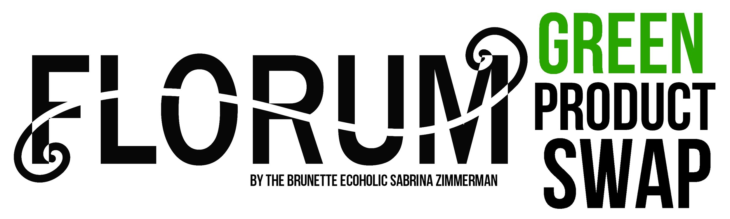 Florum Fashion Magazine - Green Product Swap - by Sabrina Zimmerman of Brunette Ecoholic - Innersense Beauty - Piper Wai - Kari Gran - Coola Suncare - Fleur Organics -Lurk Fragrance - Auve -Sircuit
