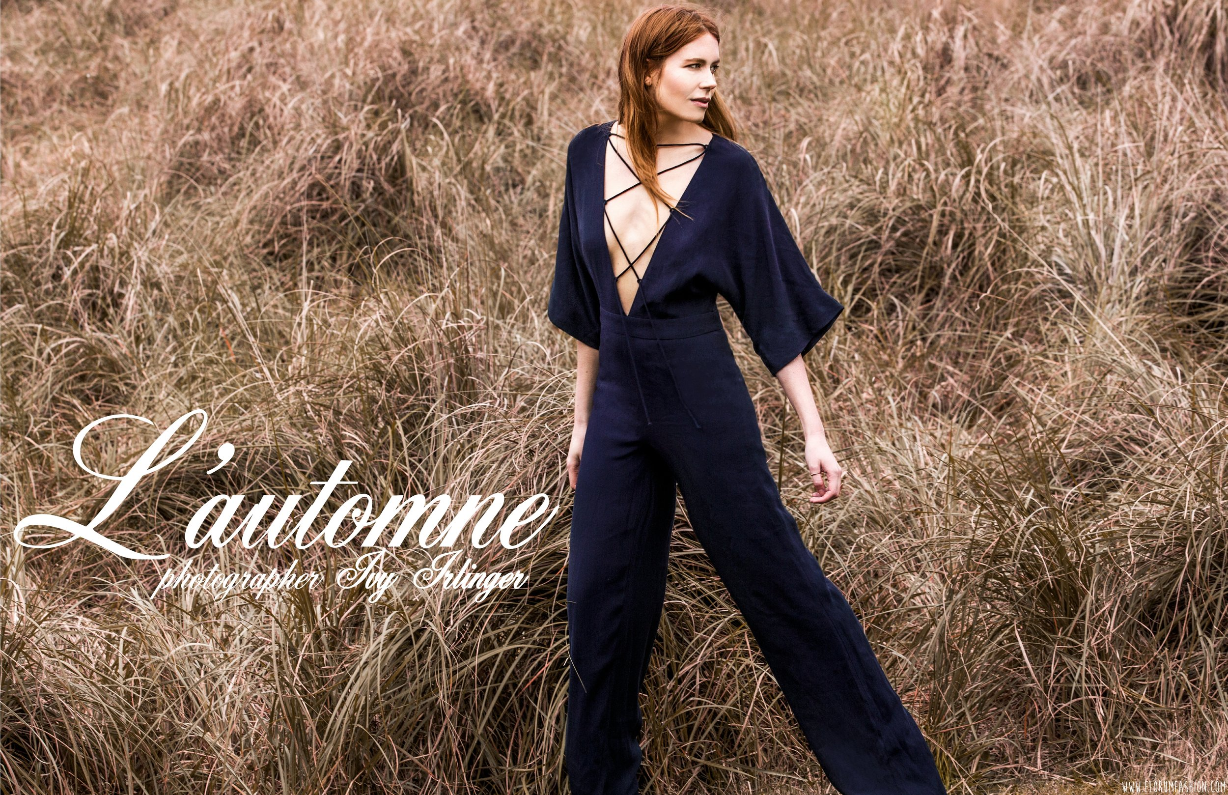 Ivy Irlinger - Florum Fashion Magazine - Autumn Days - l automne - slow fashion movement - autunno - green fashion - sustainable