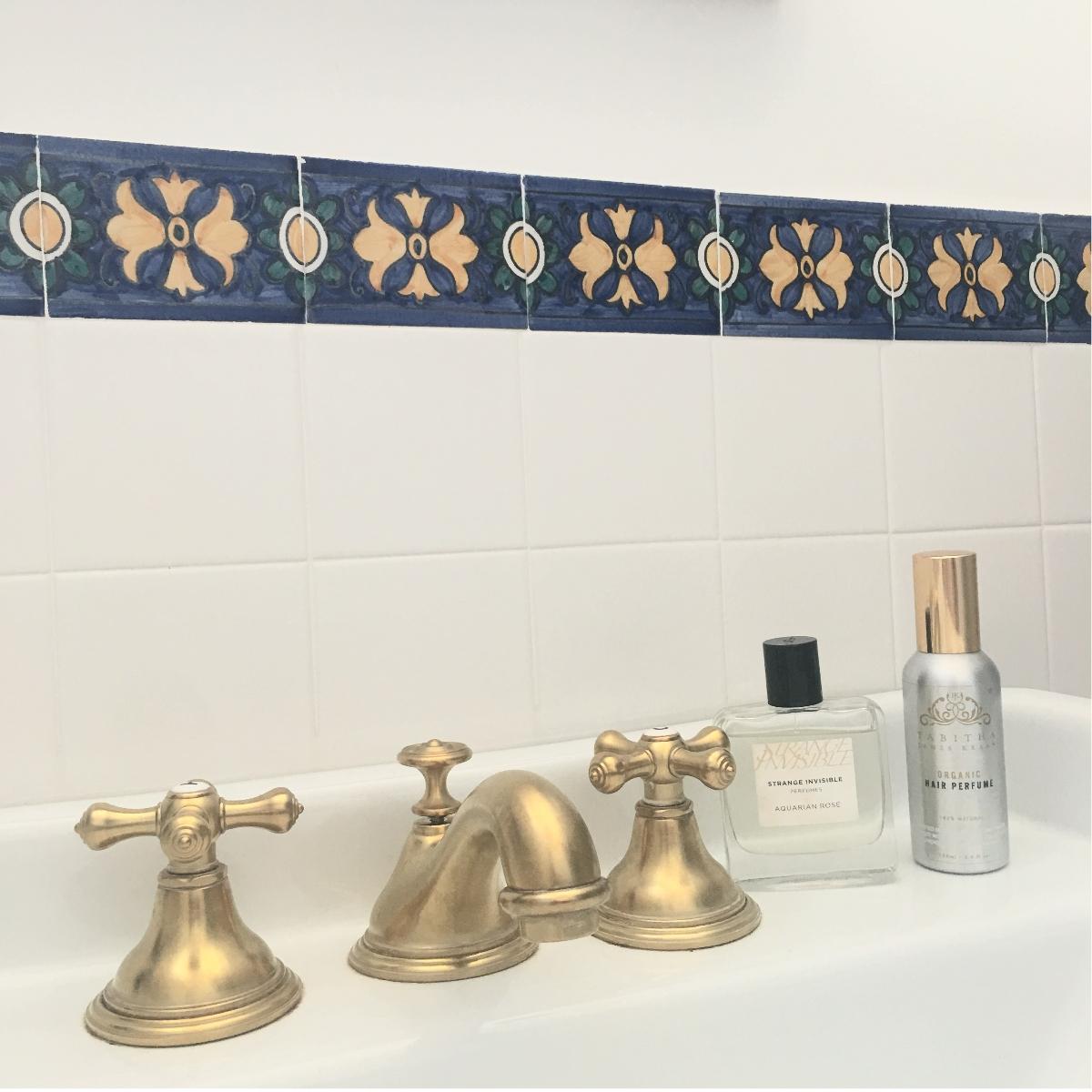 Tabitha James Kraan Organic Haircare - Strange Invisible Perfumes - Casa Do mercado - eco travel - florum fashion magazine - noelle lynne - lisbon portugal - inspiration - gold fixtures