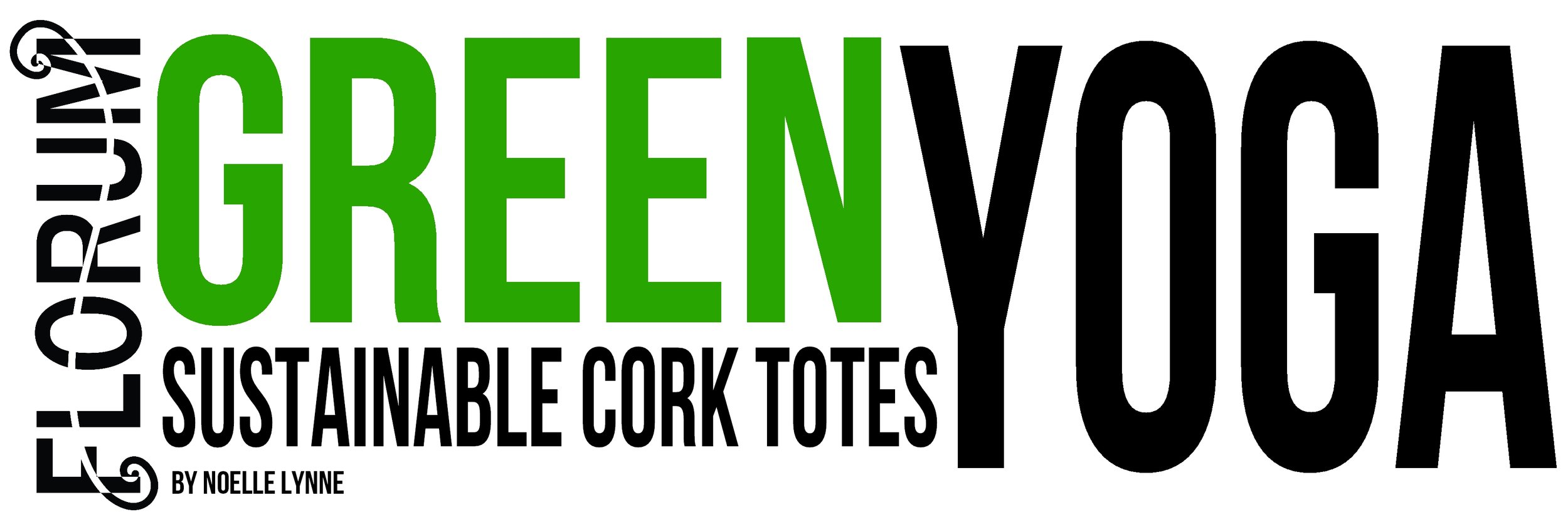 Green Yoga - Eco Totes - Sustainable - cork - recycled - By Noelle Lynne - Florum Fashion Magazine - ONO Creations