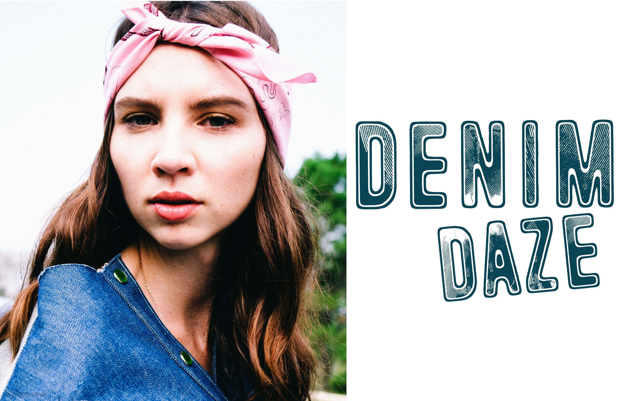 Denim Daze - Florum Fashion Magazine - Festival Fashion - layered vintage fashion - editorial - webitorial - submission - sustainable - eco friendly - irusha - ana tess