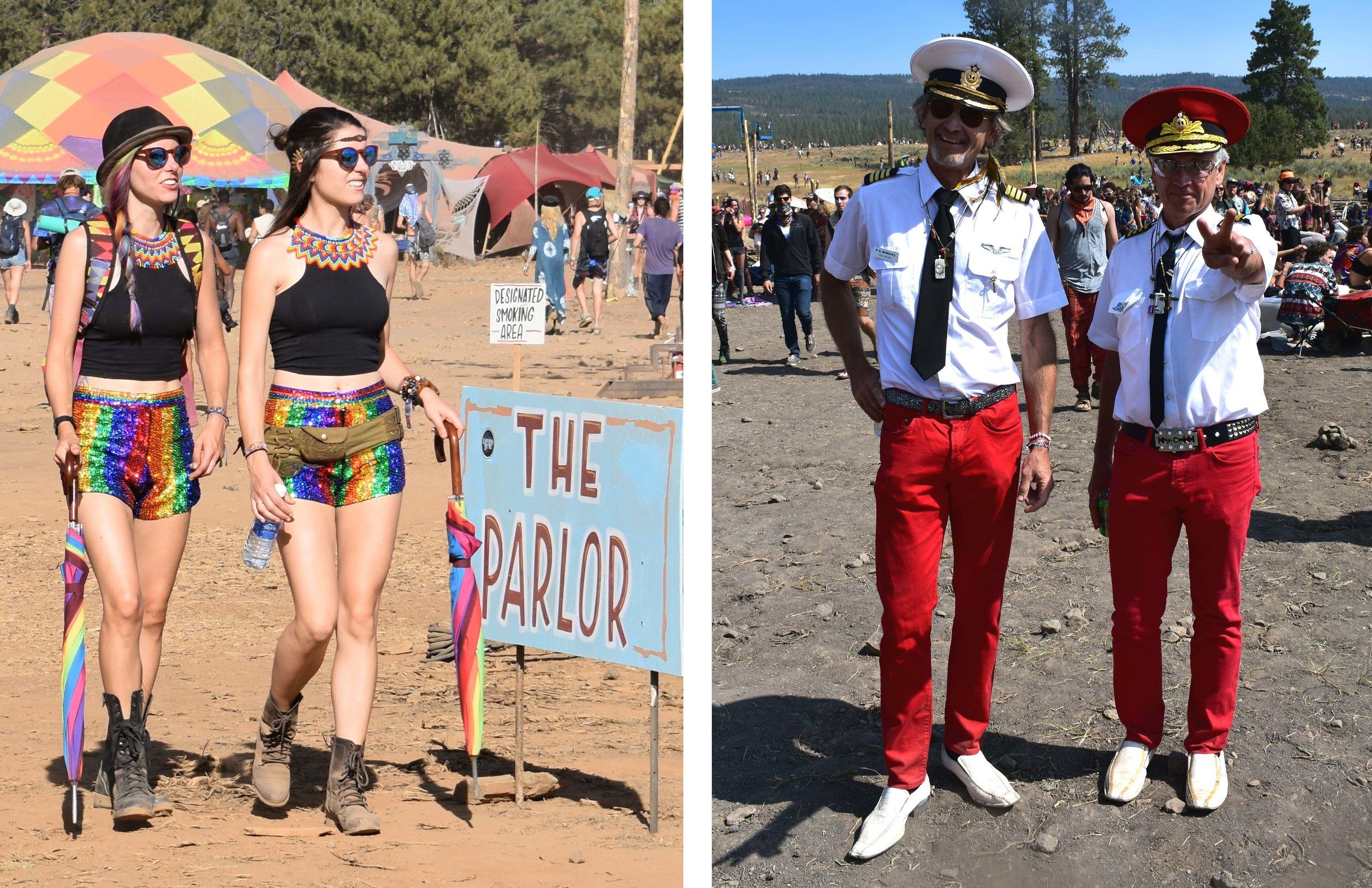 Oregon Eclipse 2017 -Symbiosis - captain hats - rainbow sparkle shorts - twinning -Envision Festival - Sonic Bloom - Rainbow Serpent - Jaded London - Chrome Monarchy - Style Guide - Florum Magazine - Hadra - Global Gathering - Lighting in a Bottle - Burning Man