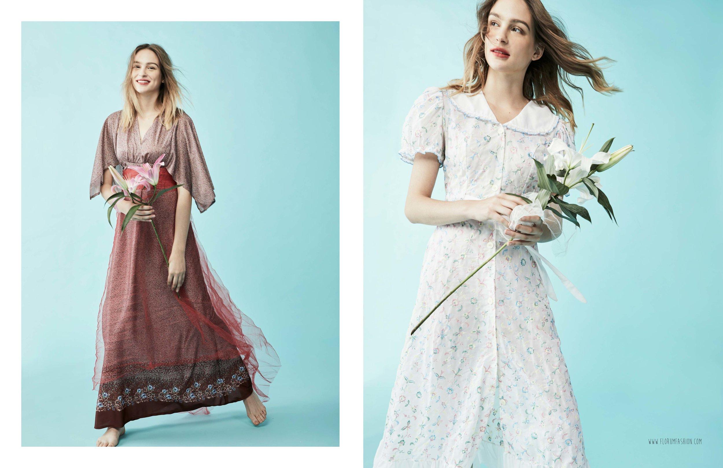 Jeter Un Coup d œil - June Ng - Florum Fashion Magazine - Jesus Rios Cozzetto - Wu Models - Vinter Vintage - Laura Sophie - Eco Friendly - Sustainable - Natural - Green