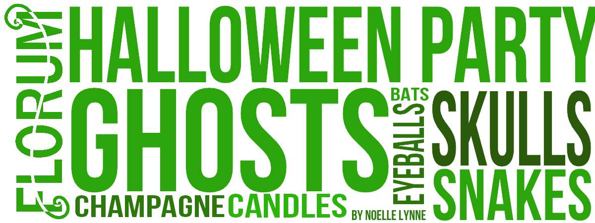 halloween party ideas - Florum Fashion Magazine - Beeswax - Northern Lights Candles - lychee eyeballs - snake breadsticks - veuve clicqout champagne - sustainable ethical creepy cute freaky - Noelle Lynne oreo bats skulls.jpg