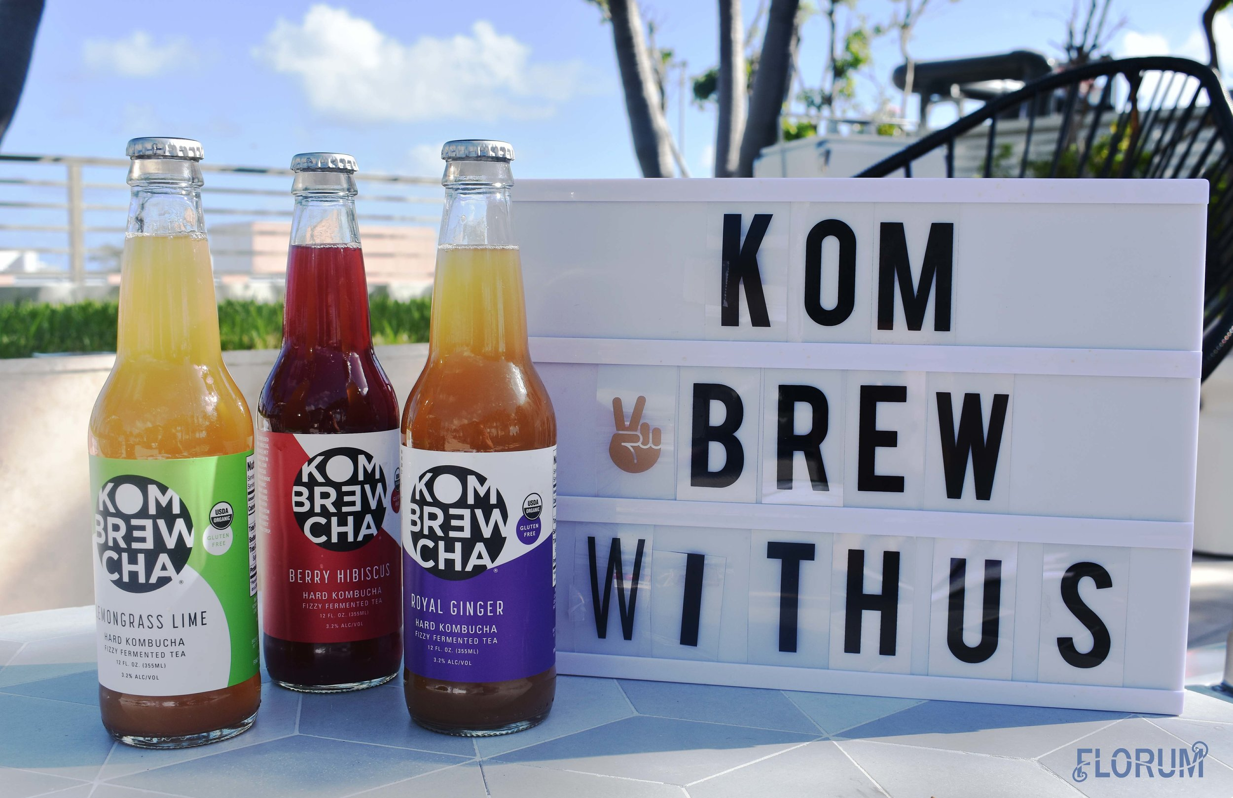 After the meditation session, I treated myself to my daily dose of probiotics via  Kombrewcha.   Kombrewcha  is known as the first hard kombucha, and the Royal Ginger & OG (not pictured) were my favorites!