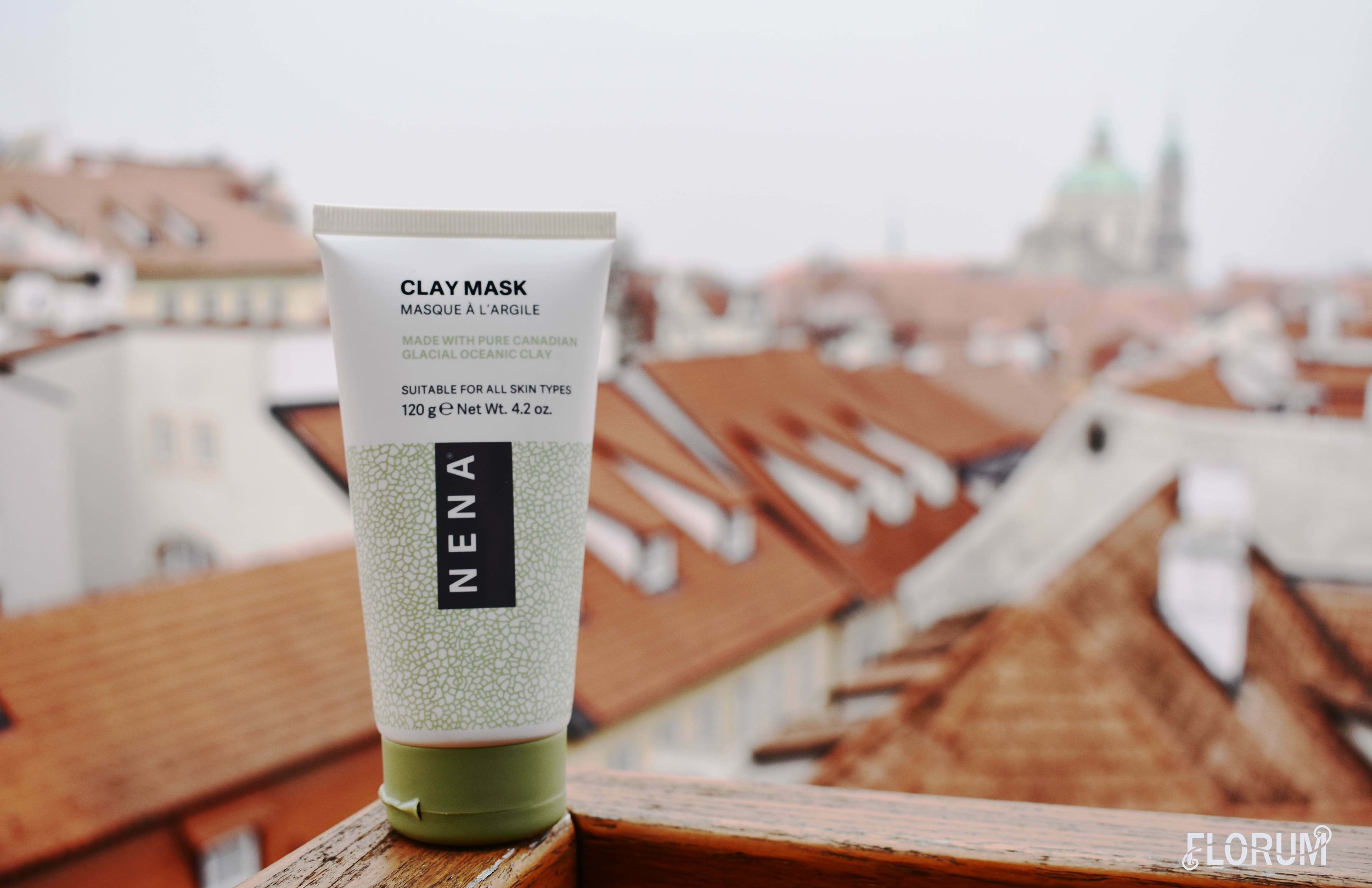 The second surprise that came in the COMFORT box from Ellebox was the Clay Mask from NENA Skincare which retails for $35
